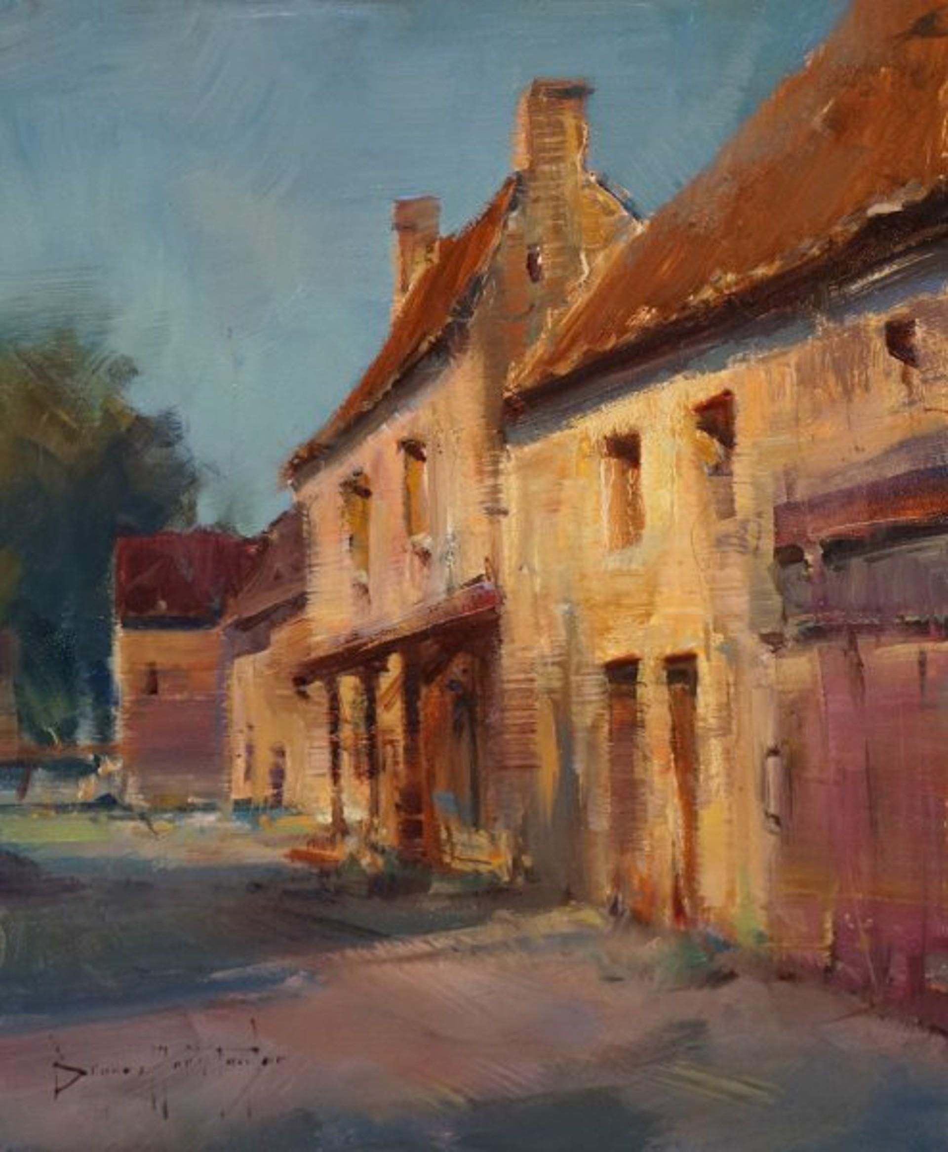 Bryan Mark Taylor: Dordogne Farmhouse by Bryan Mark Taylor