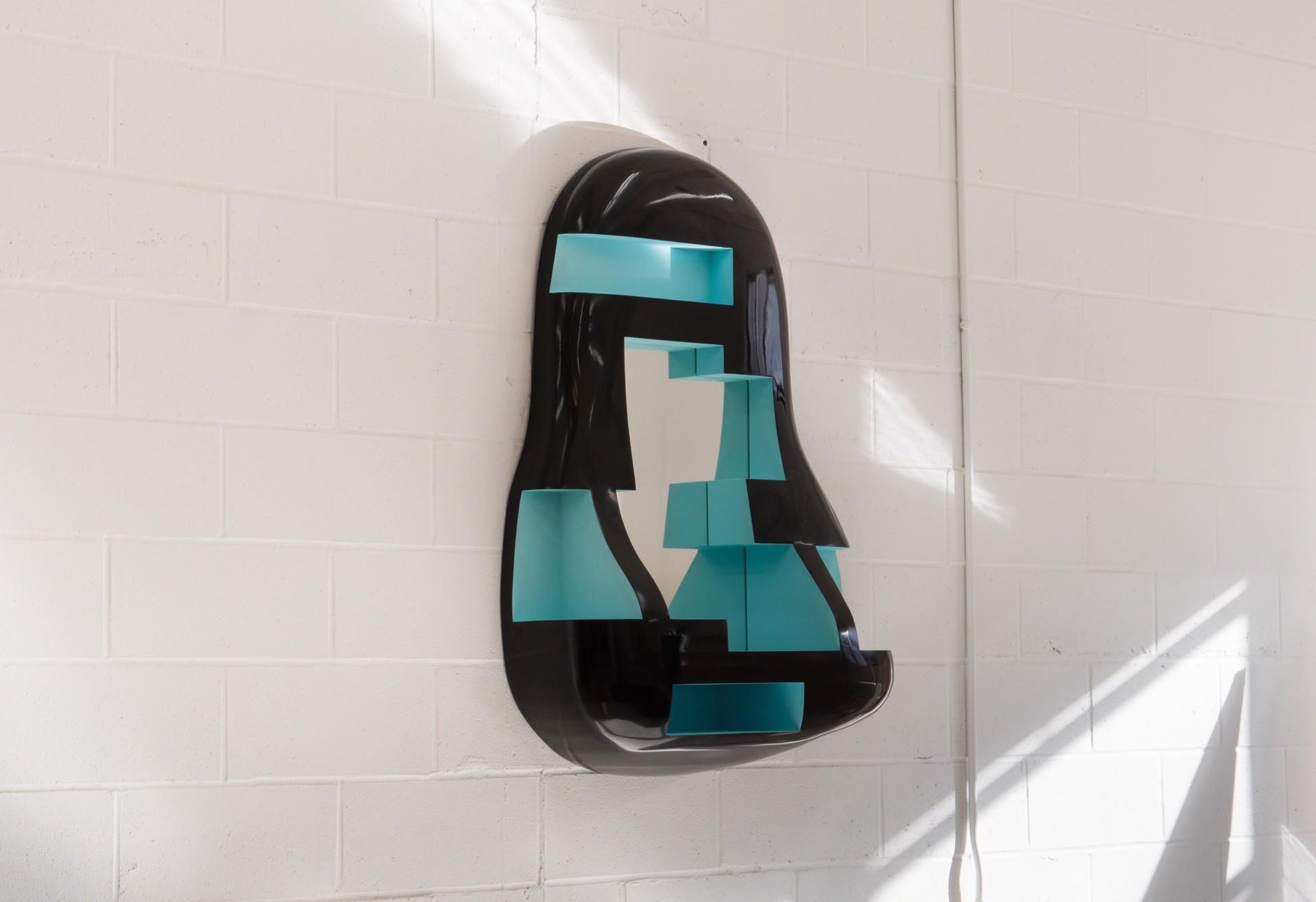 "Sculpted Mirror ""Aubrac"" by Jacques Jarrige"