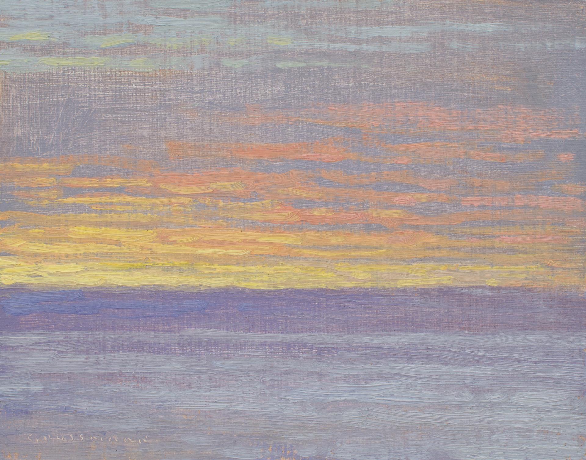 February 4th Sunrise by David Grossmann
