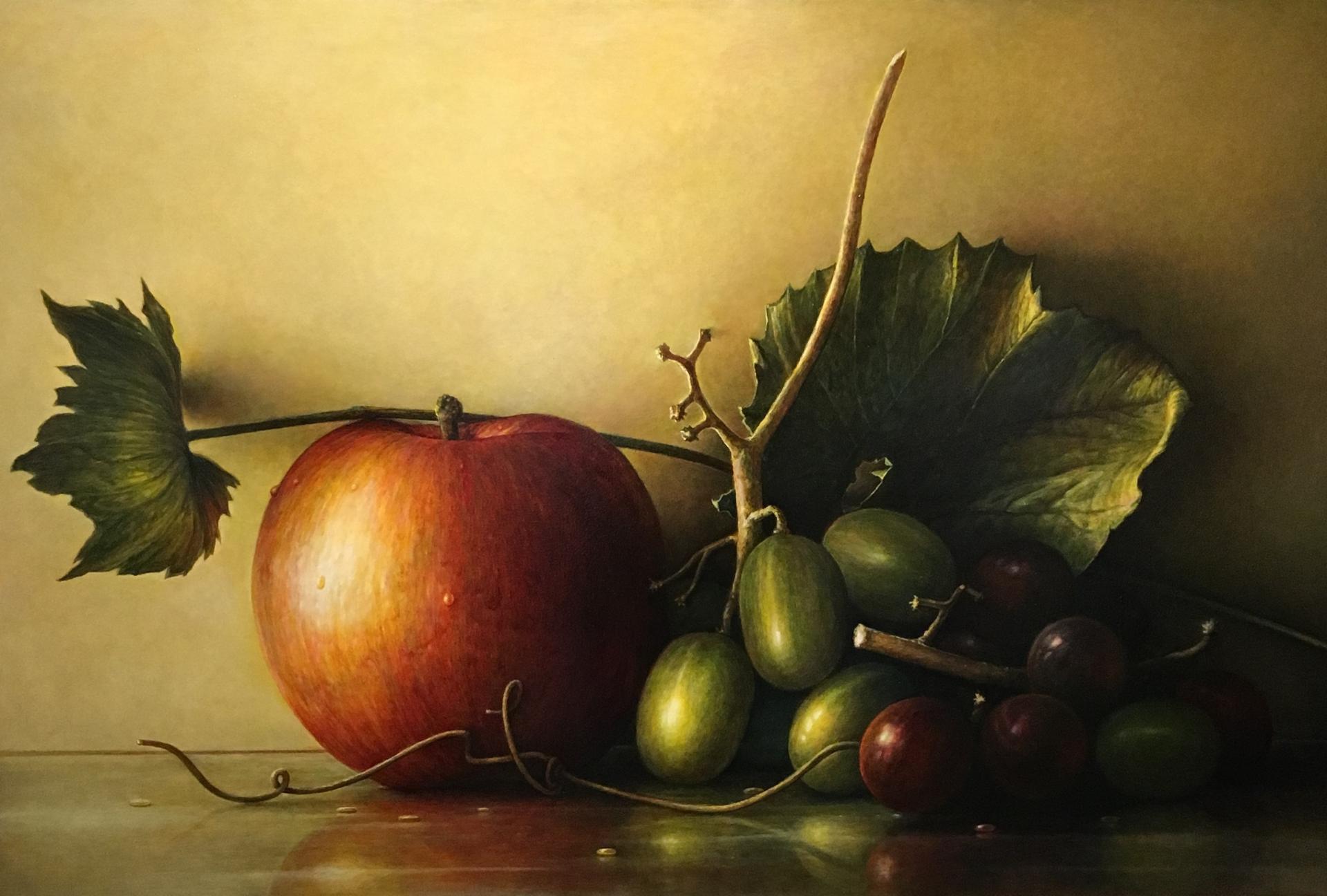 bobbi's apples by James DelGrosso