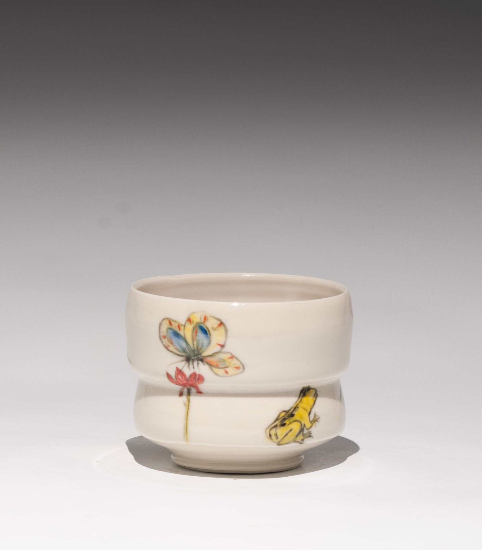 Insect Tea Bowl 6 by Caroline Bottom Anderson