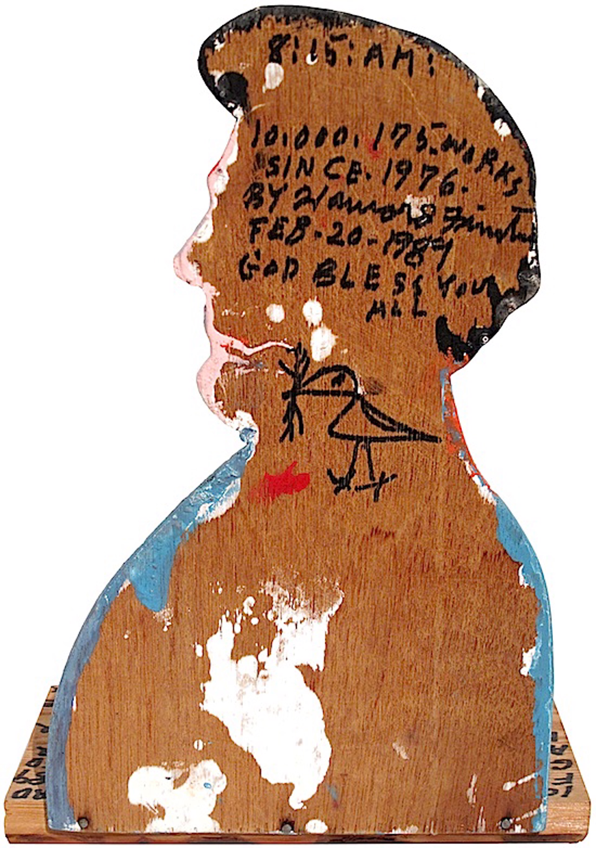 Abraham Lincoln by Howard Finster