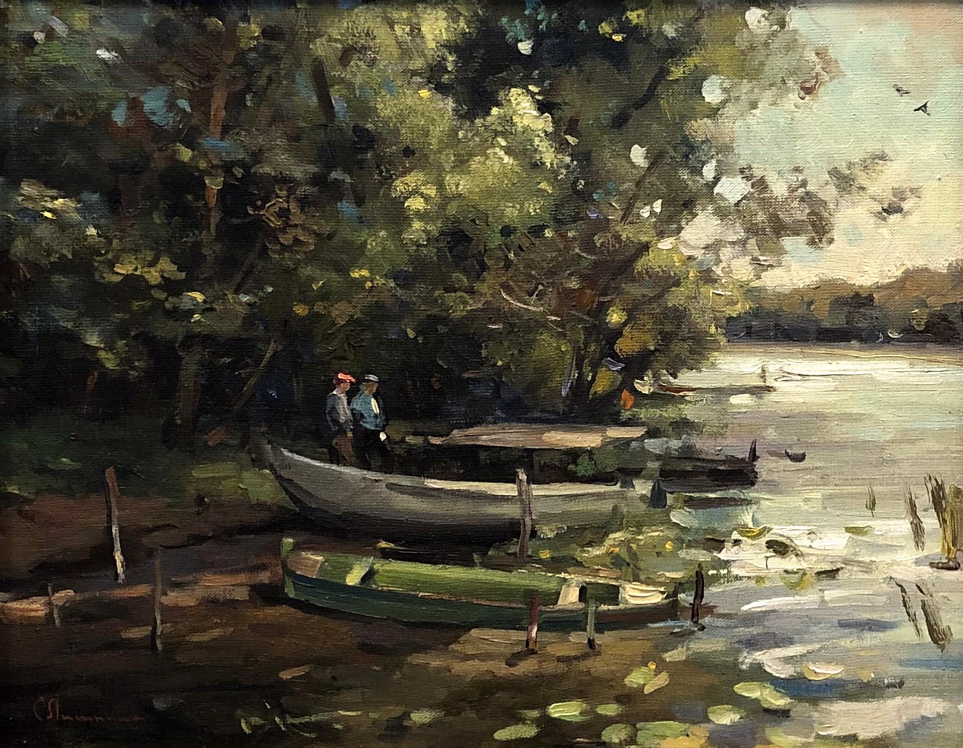 Svetlana S. Lisitsina - Dock by Russian Artists