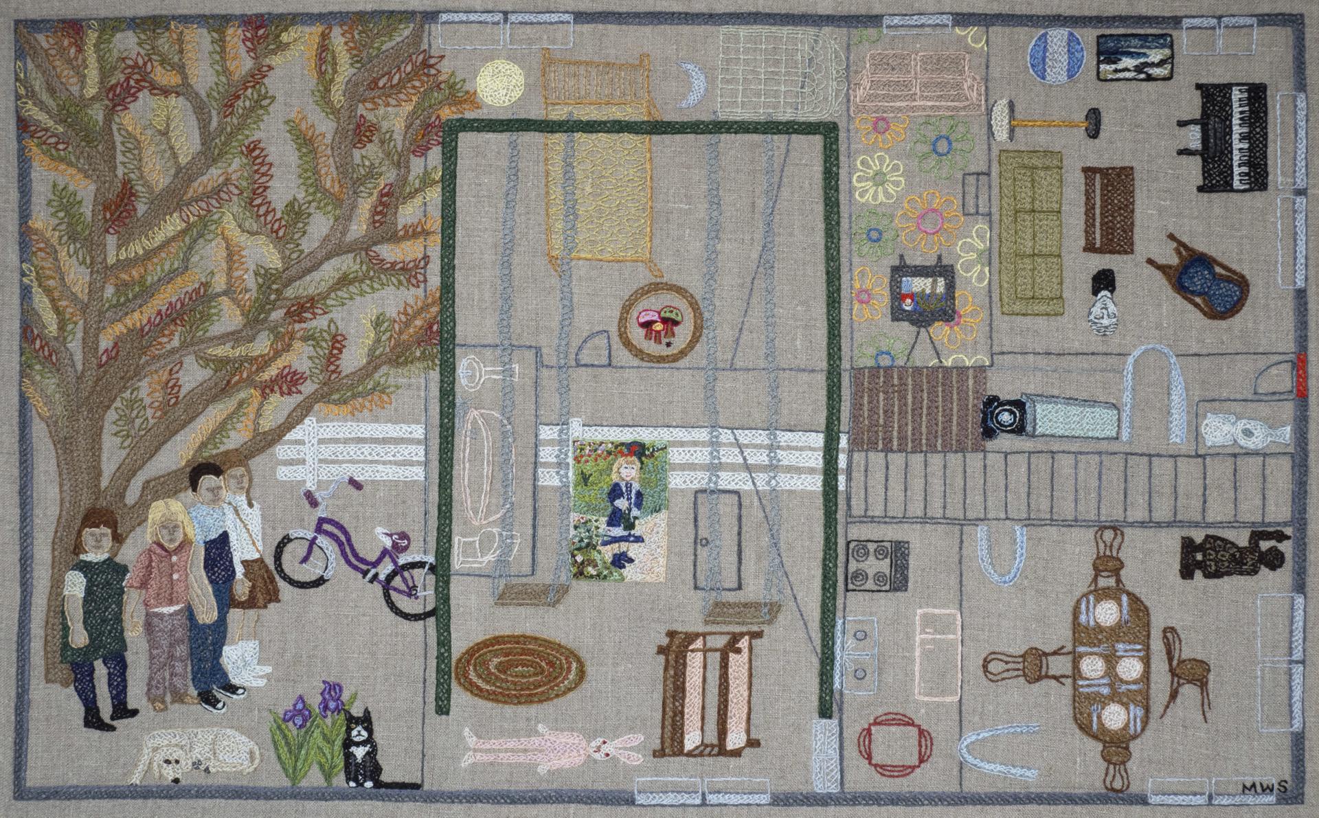 Memory Map by Martha Shade
