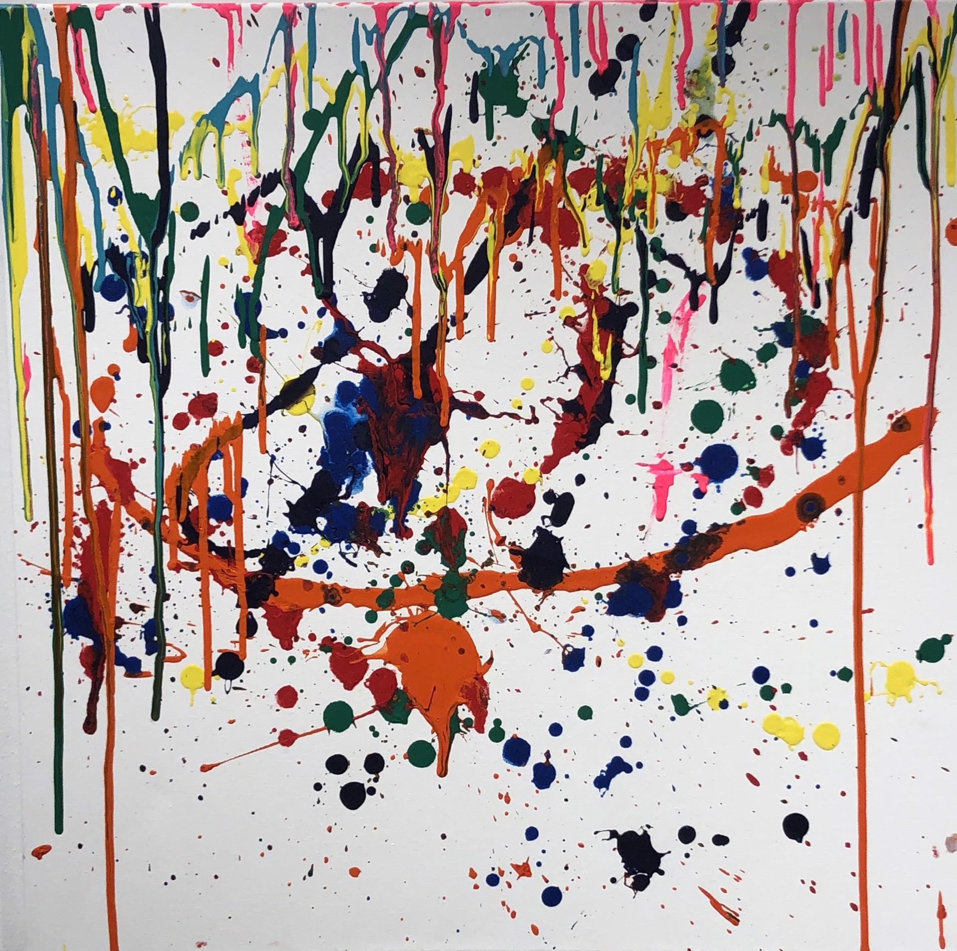 Spladeeter, Splitter, Splatter (sold) by Chloe Lejnieks