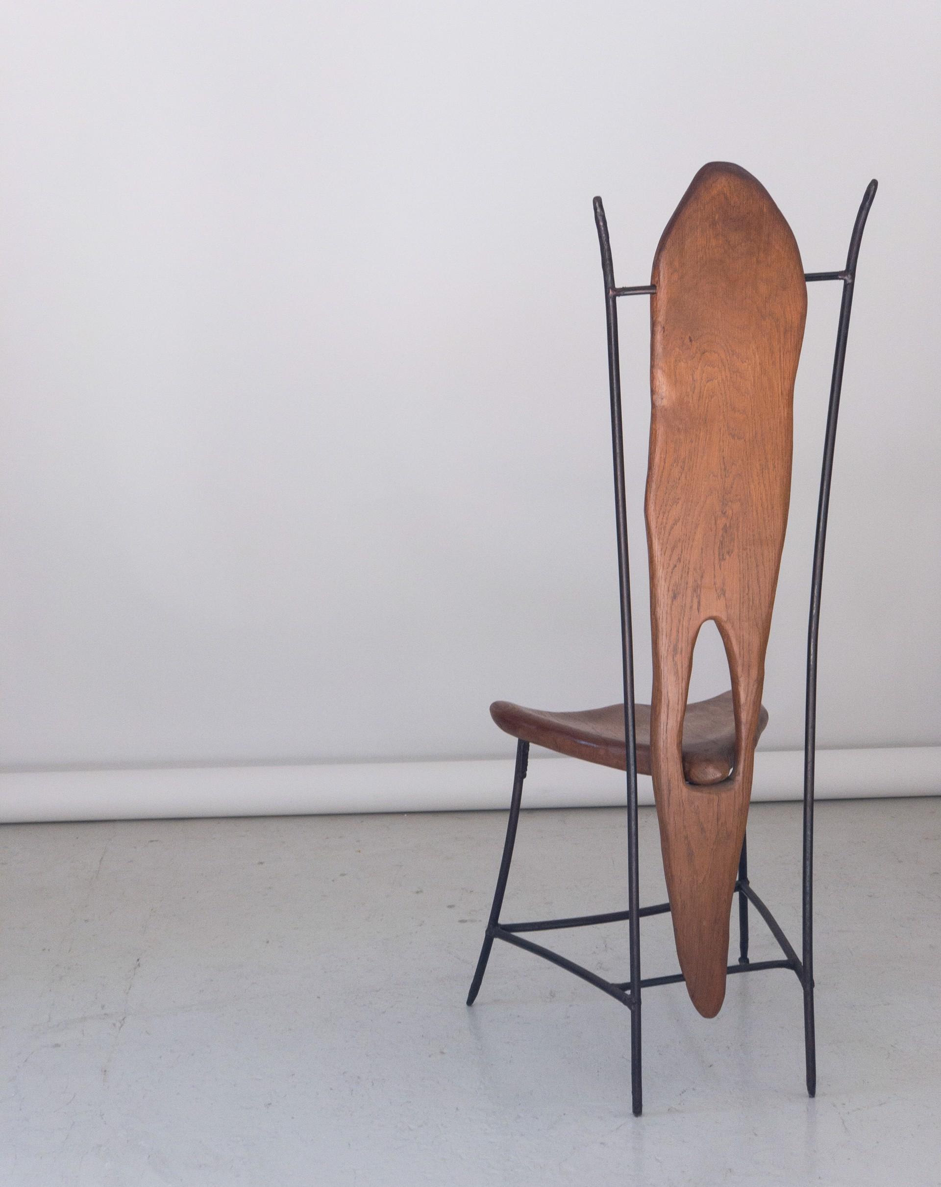 Unique chair #2 by Jacques Jarrige
