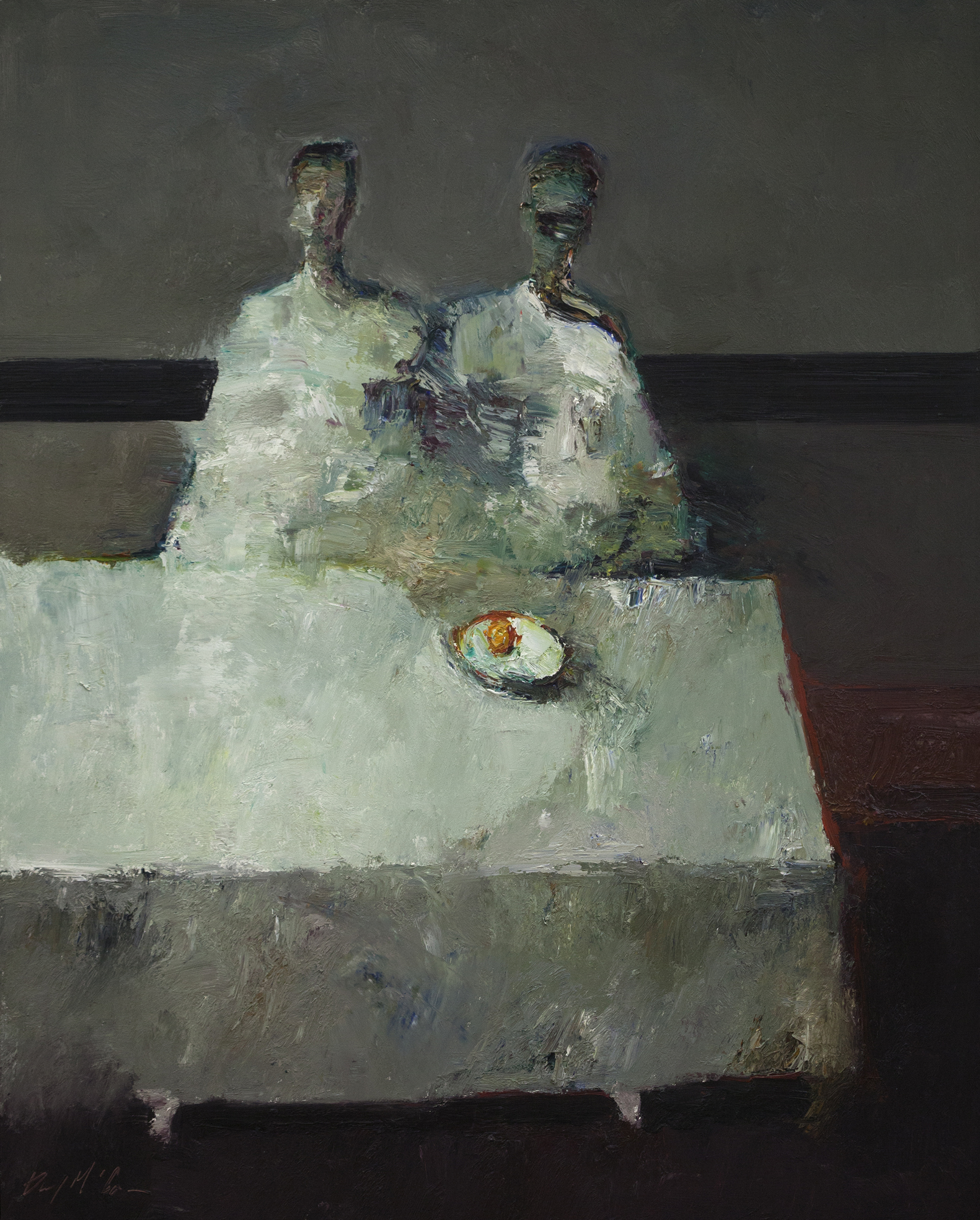 Orange on Table by Danny McCaw