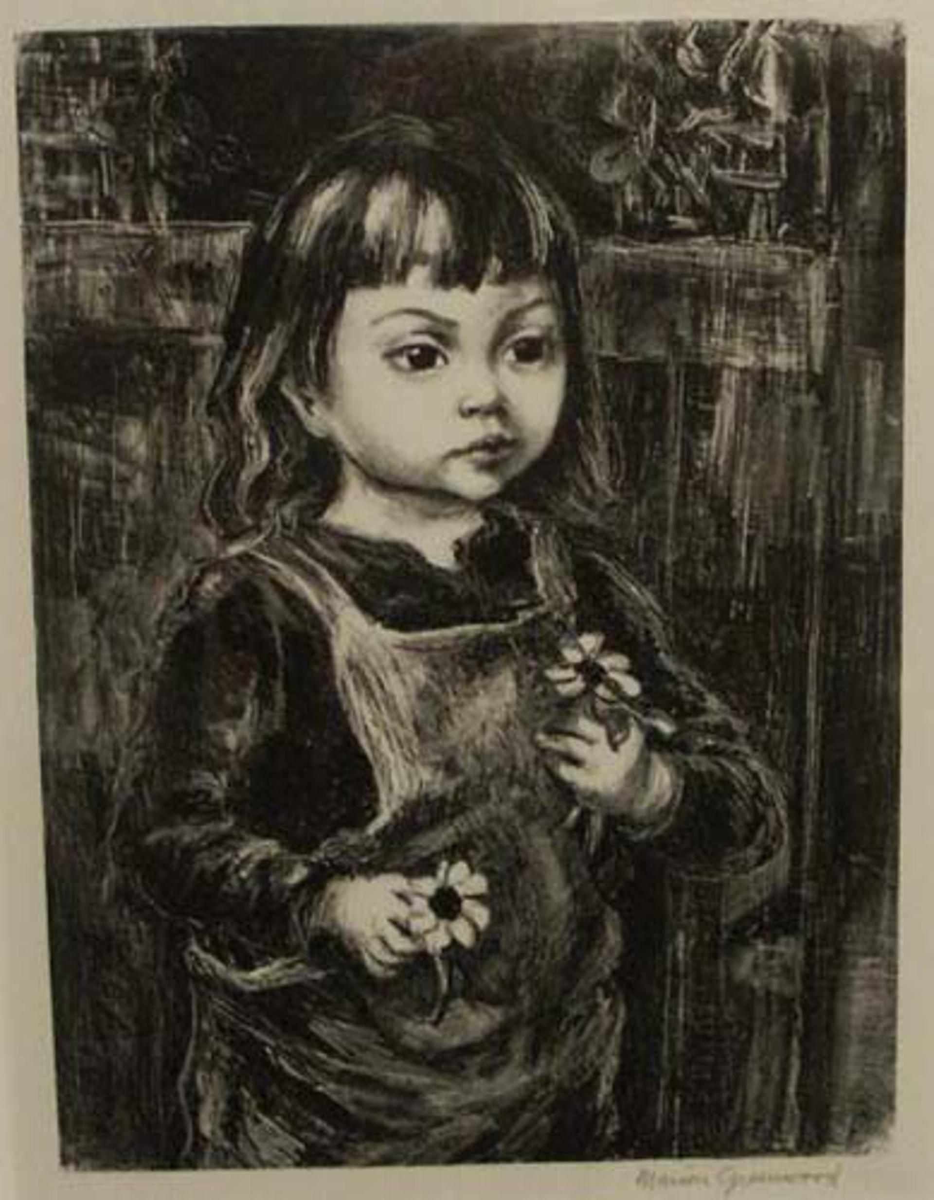 Black Eyed Susan by Marion Greenwood