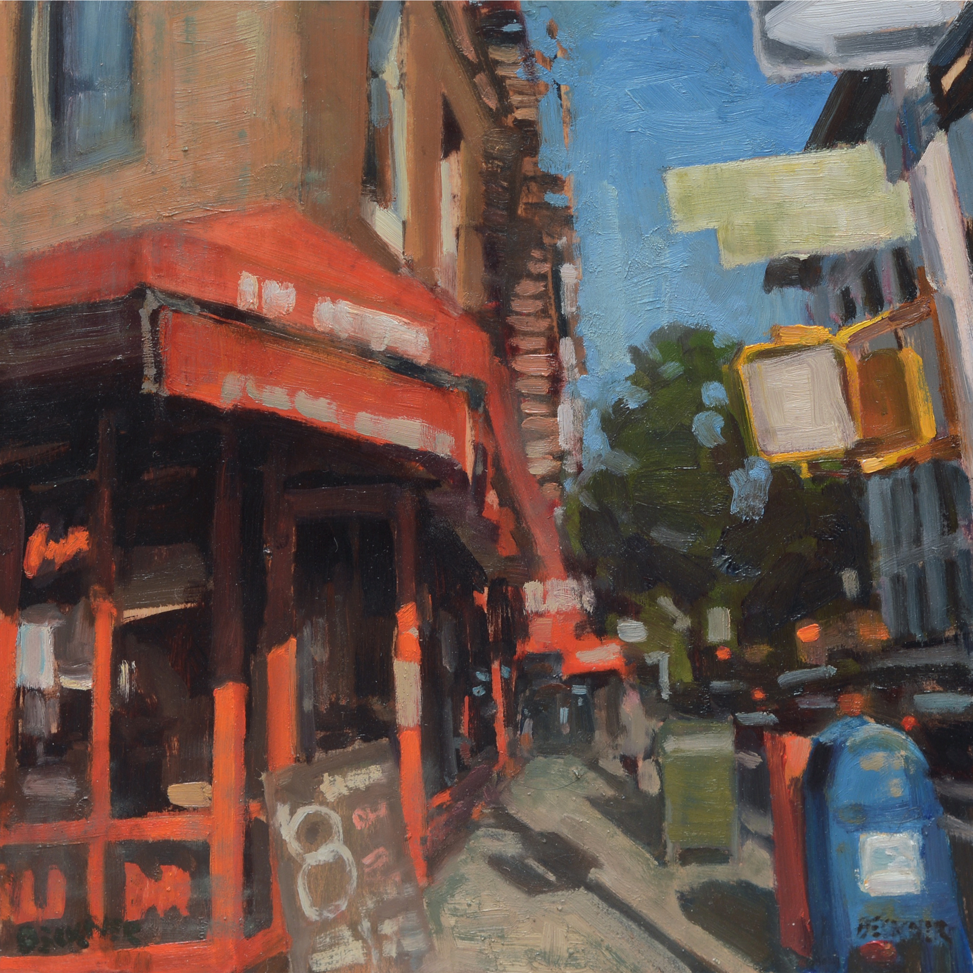 Urban Sunset #2 by Jim Beckner