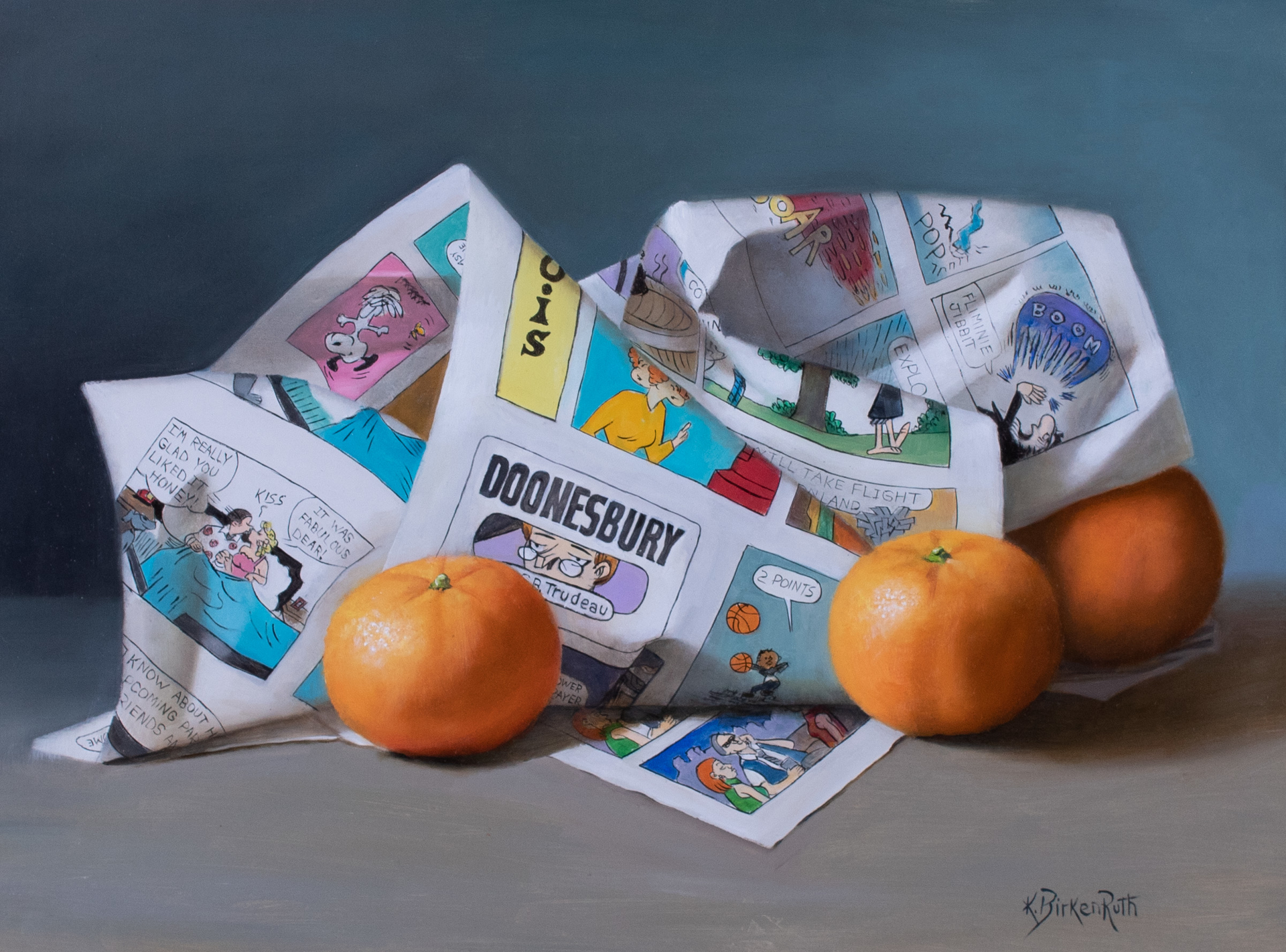 Comedic Clementines by Kelly Birkenruth