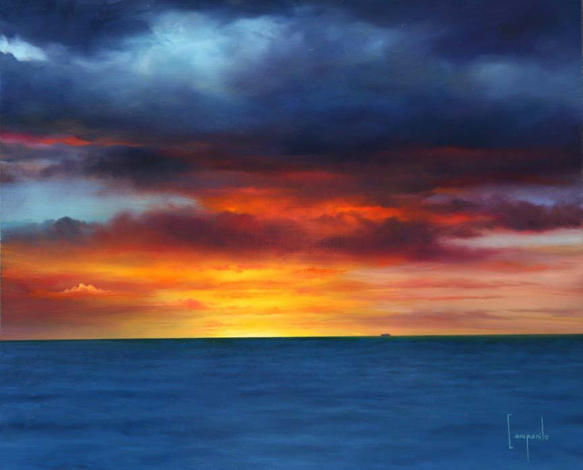 Kona Sunset by Dario Campanile