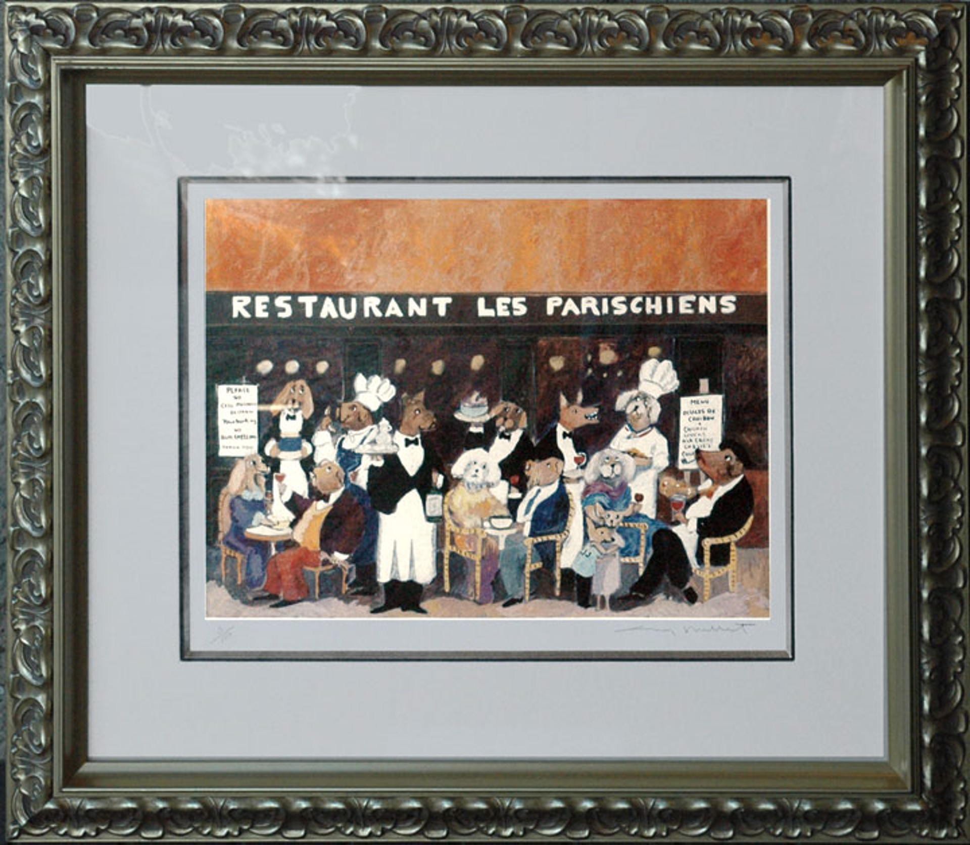 Restaurant Les Parischiens by Guy Buffet