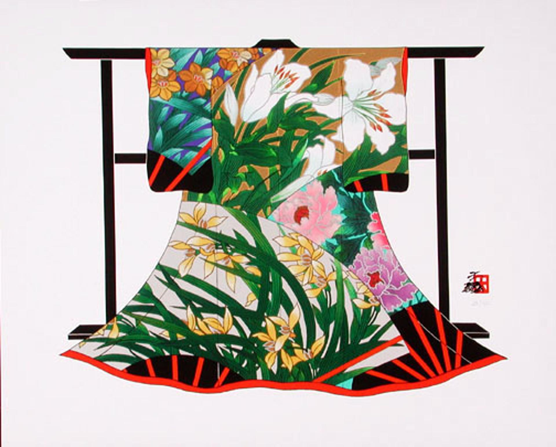 Summer Lilies by Hisashi Otsuka