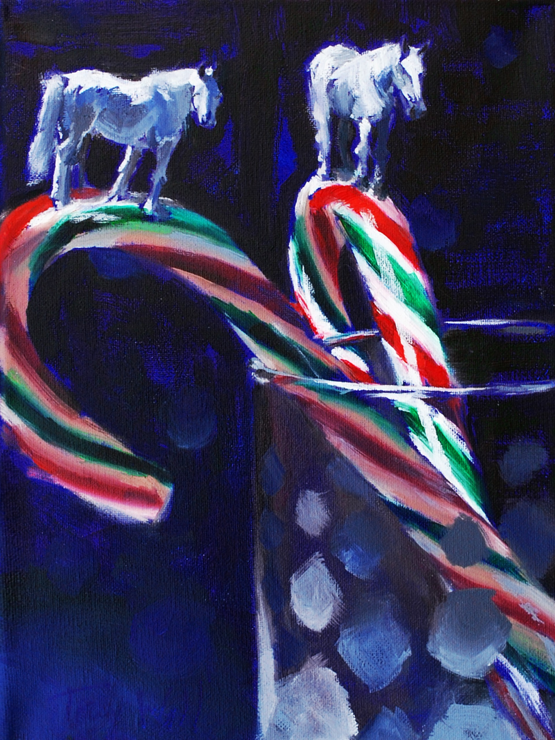 Holiday Party Trails by Tracy Wall