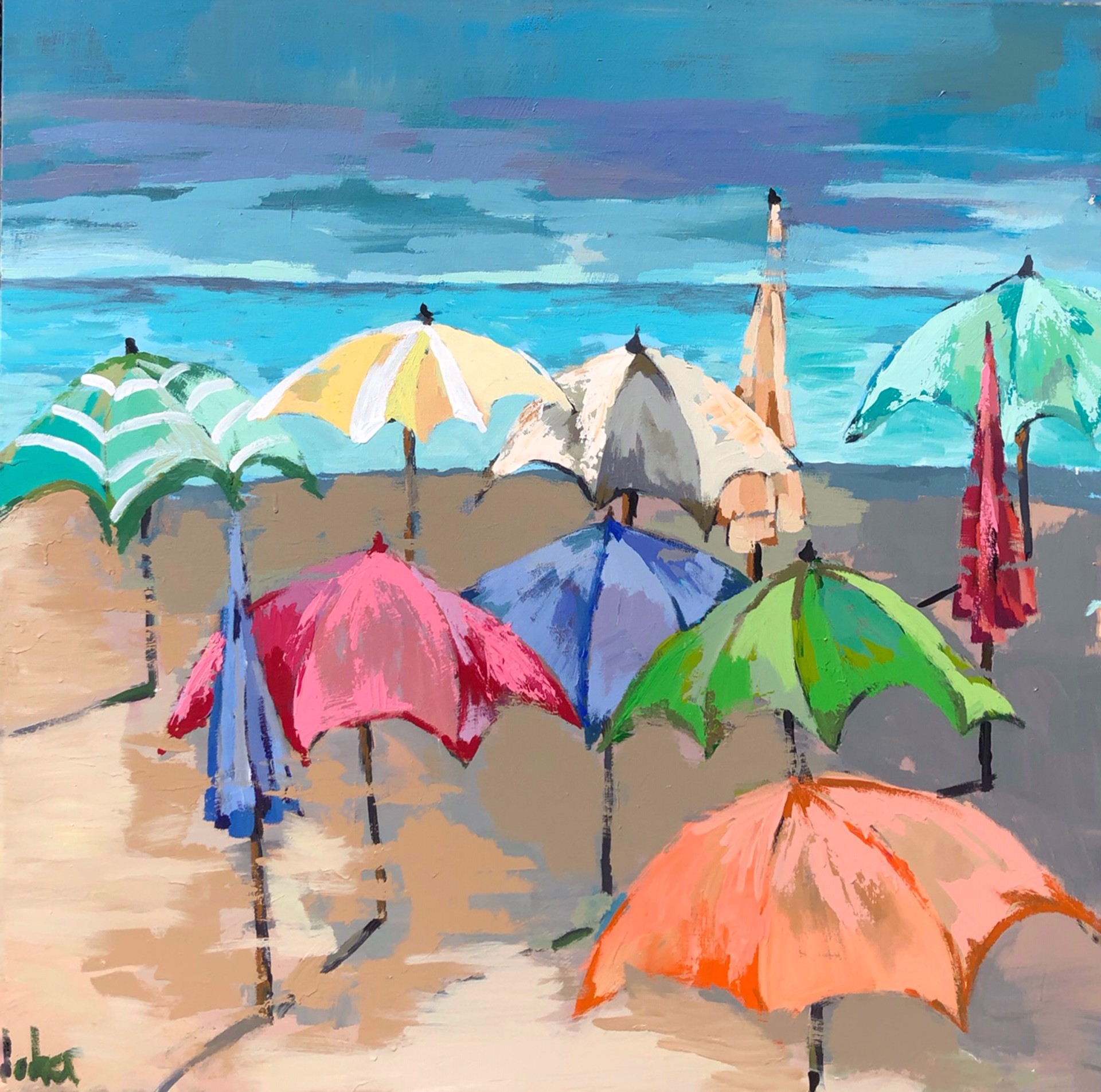 Umbrella Sea by Gary Bodner