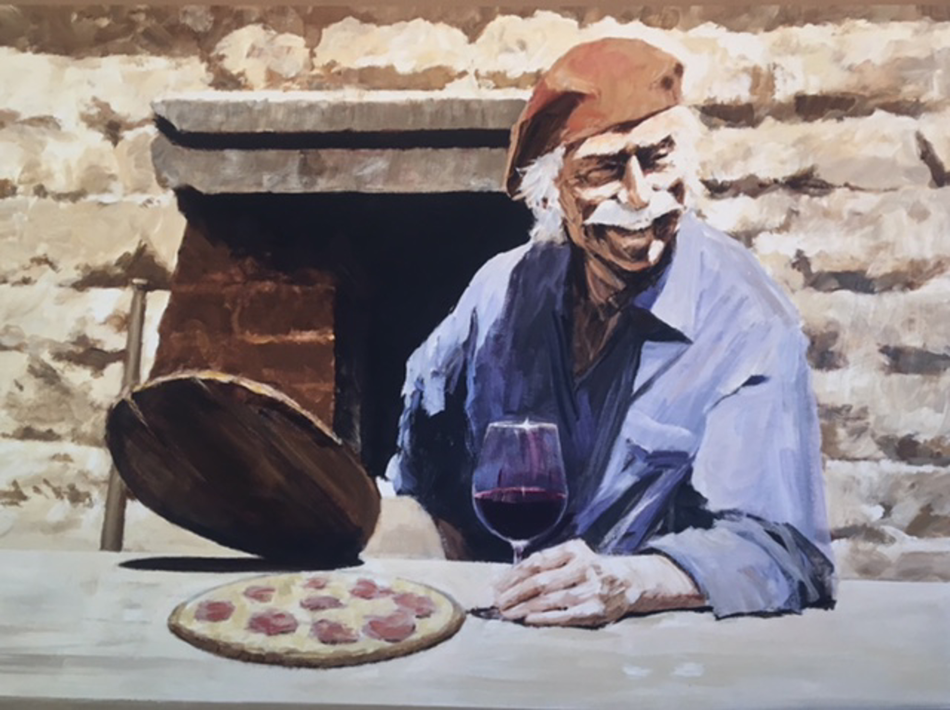 Pizza Alfresco by Aldo Luongo