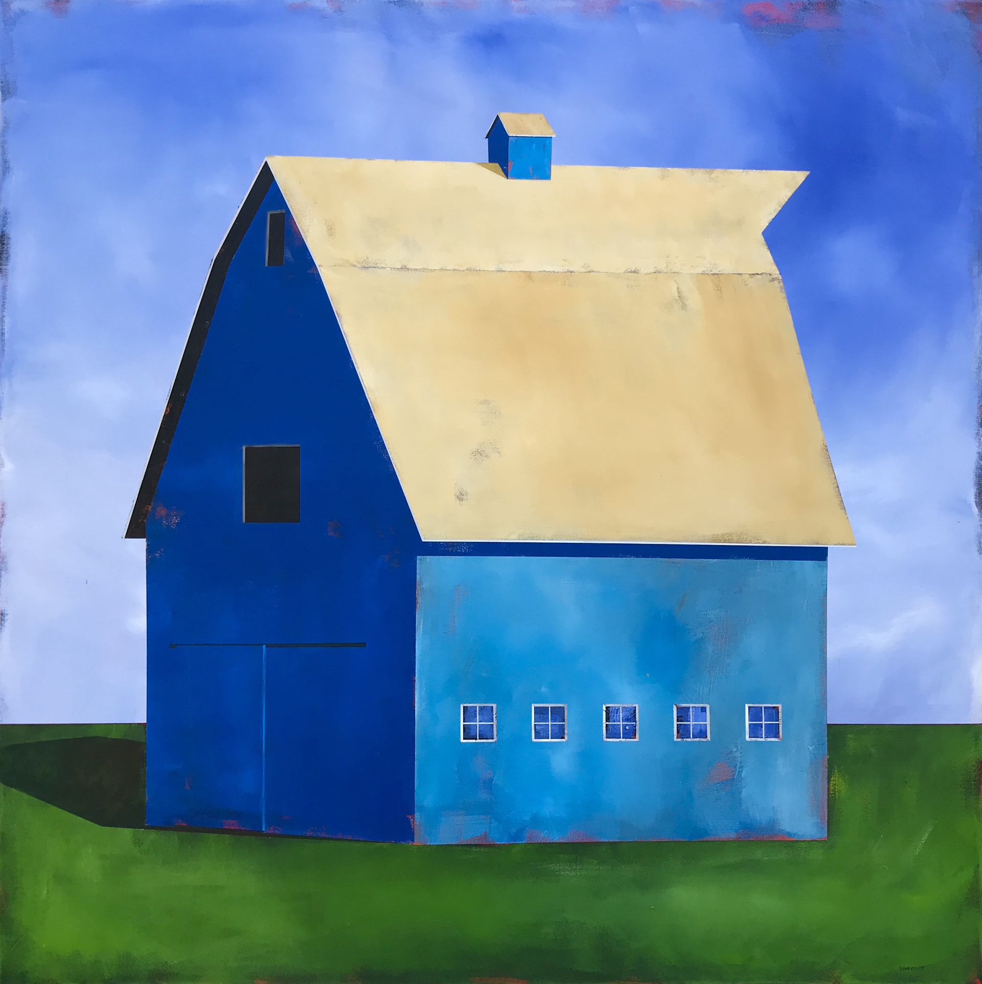 Blue #5 by Justin Wheatley