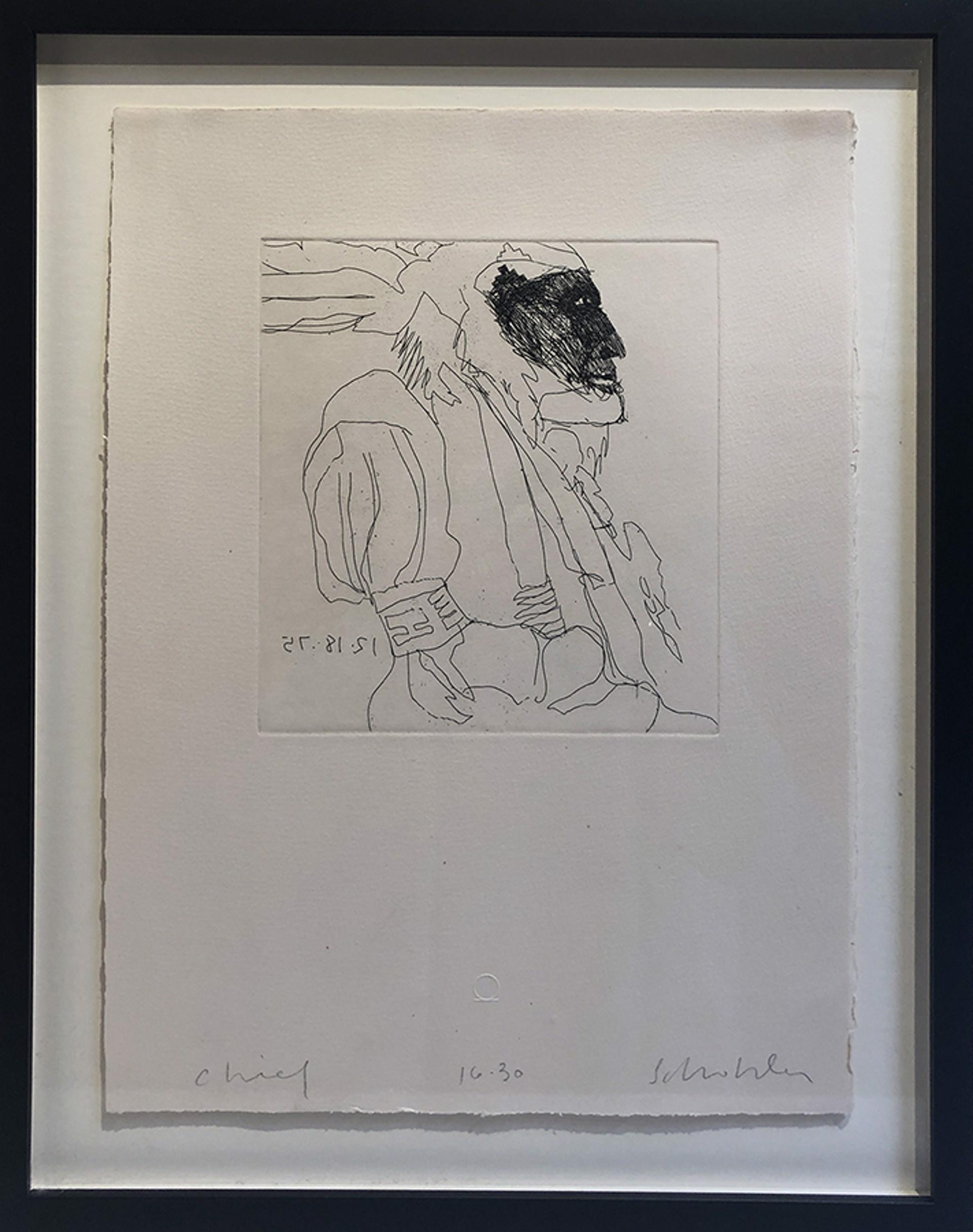 Chief by Fritz Scholder