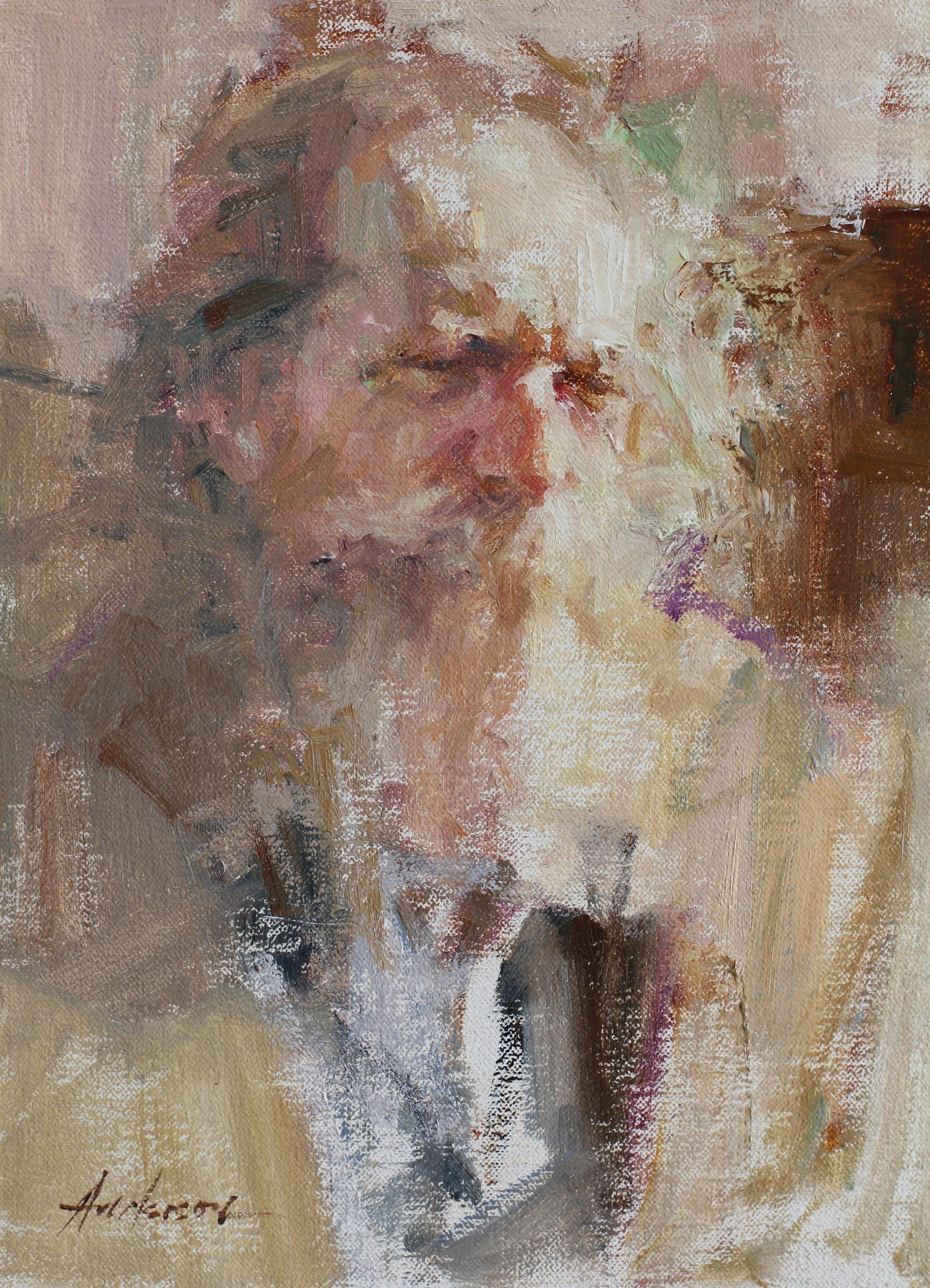 Bearded Man by Carolyn Anderson