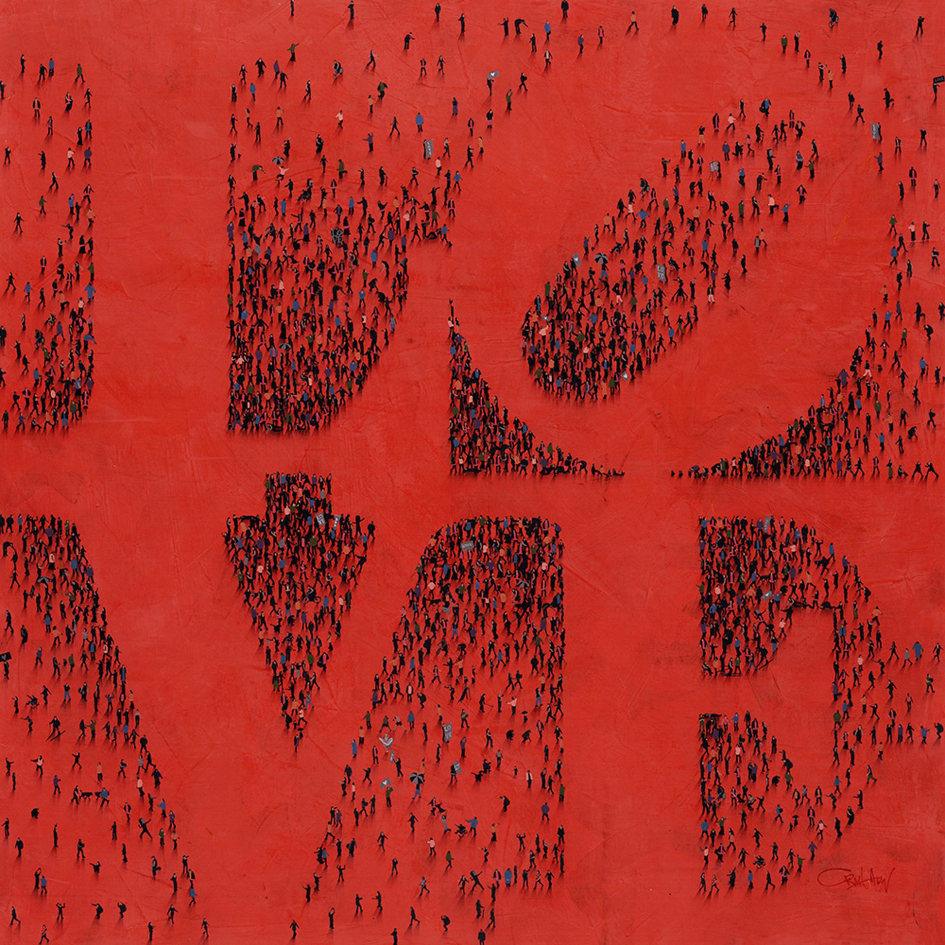 Everyone (SOLD)  by Craig Alan, Populus Homage