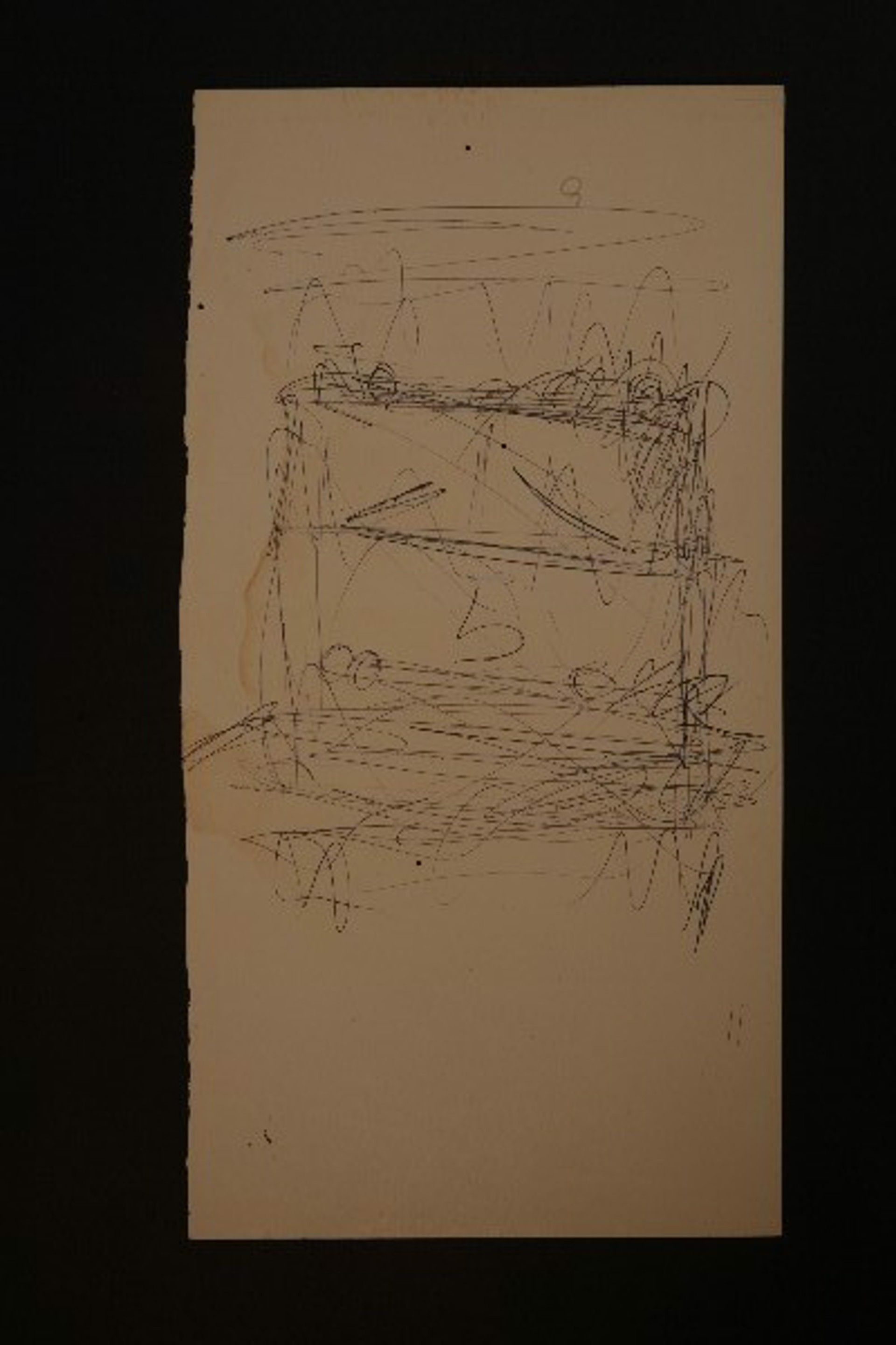 Drawing From the 1970's #1 by Purvis Young (1943 - 2010)