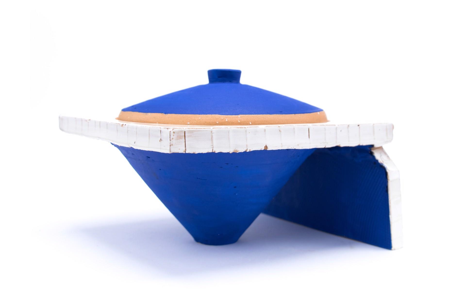 Lidded Jar (7) by Zak Helenske