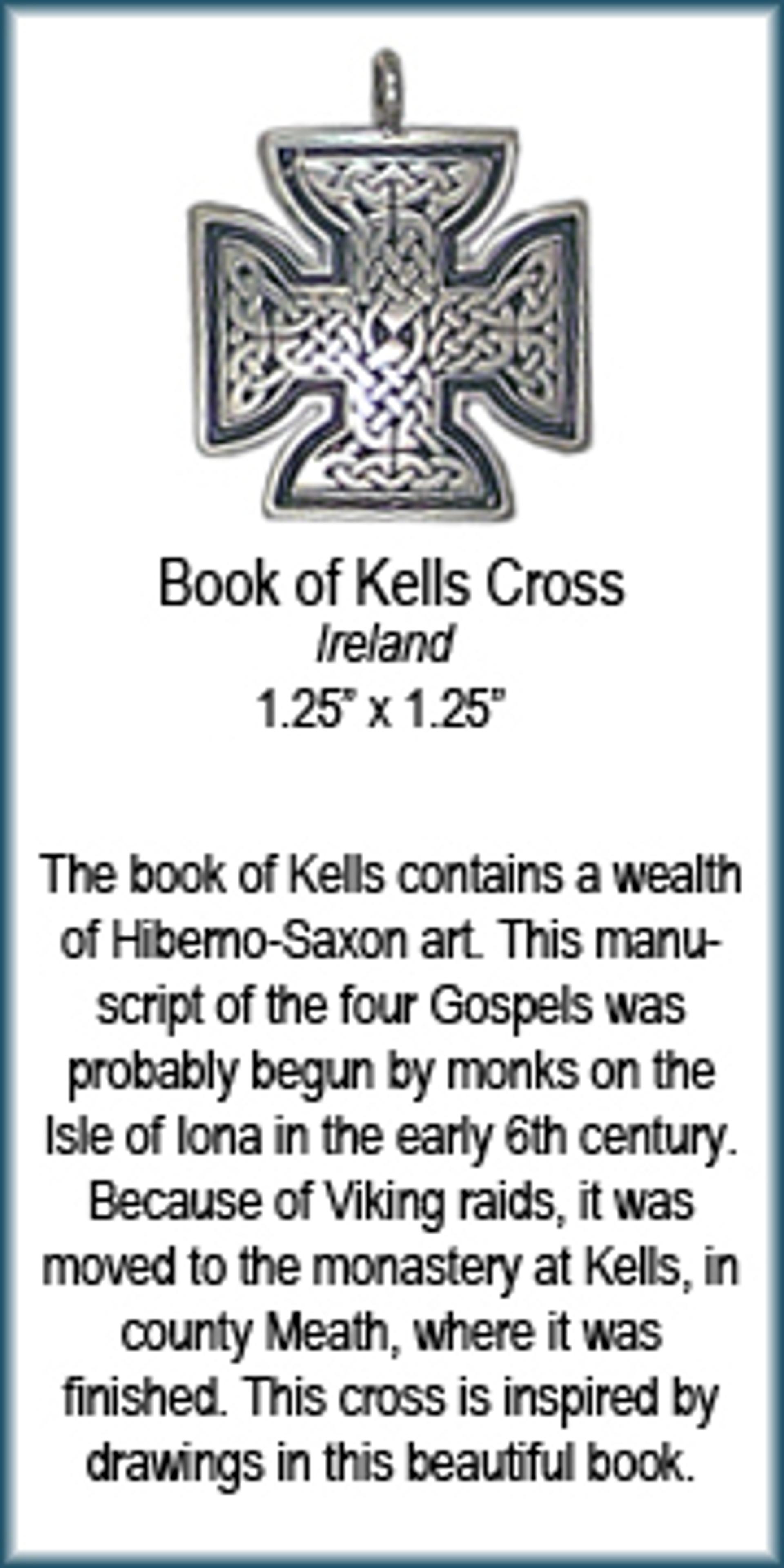 Pendant - Book of Kells Cross - 4370 by Deanne McKeown