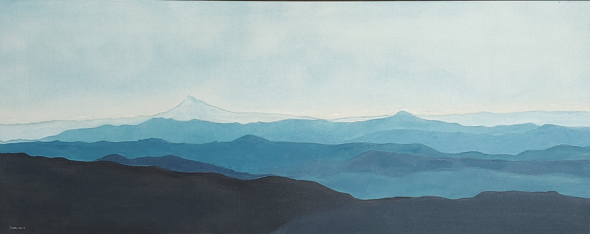 Mt. Hood by Shirley Hays (Yamhill, OR)