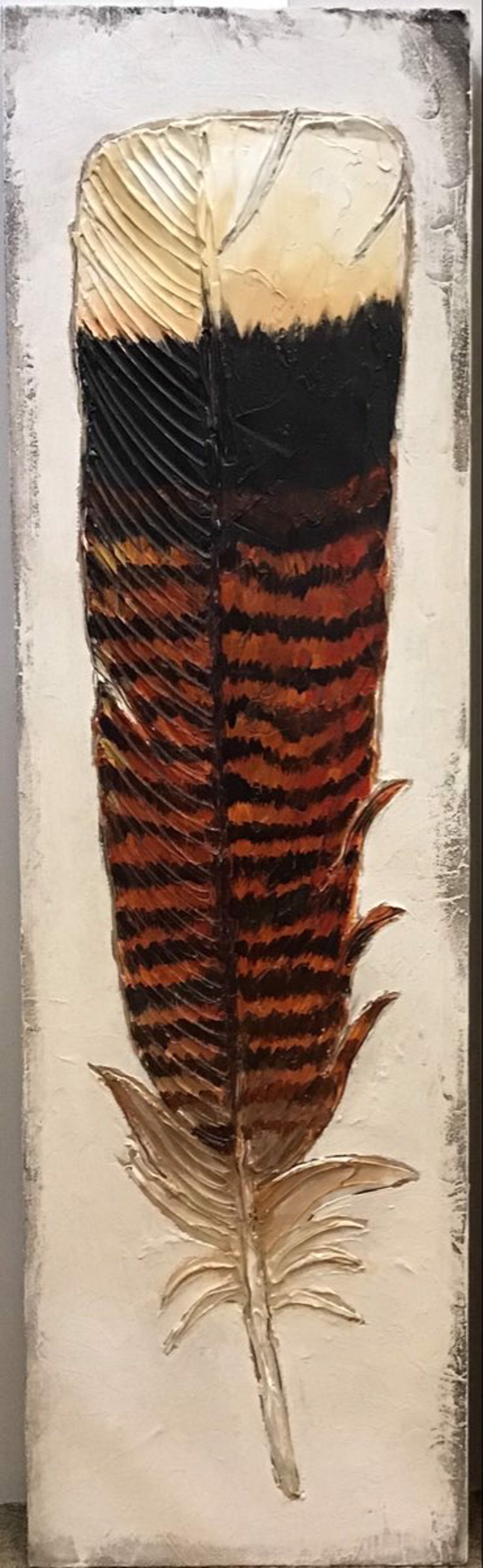 Turkey Feather by Sherry Cook