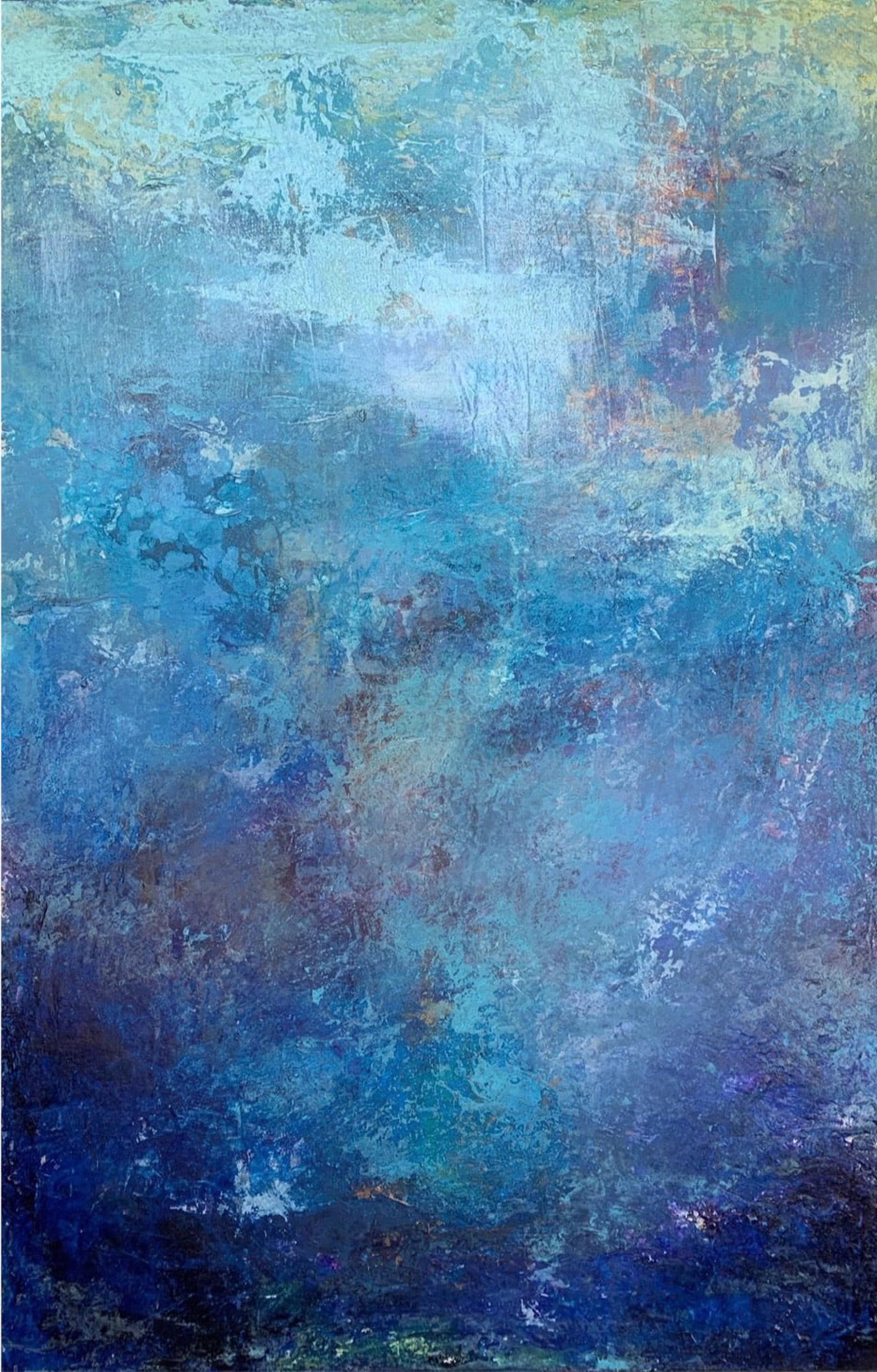 Blue Fire by Jill Malouf