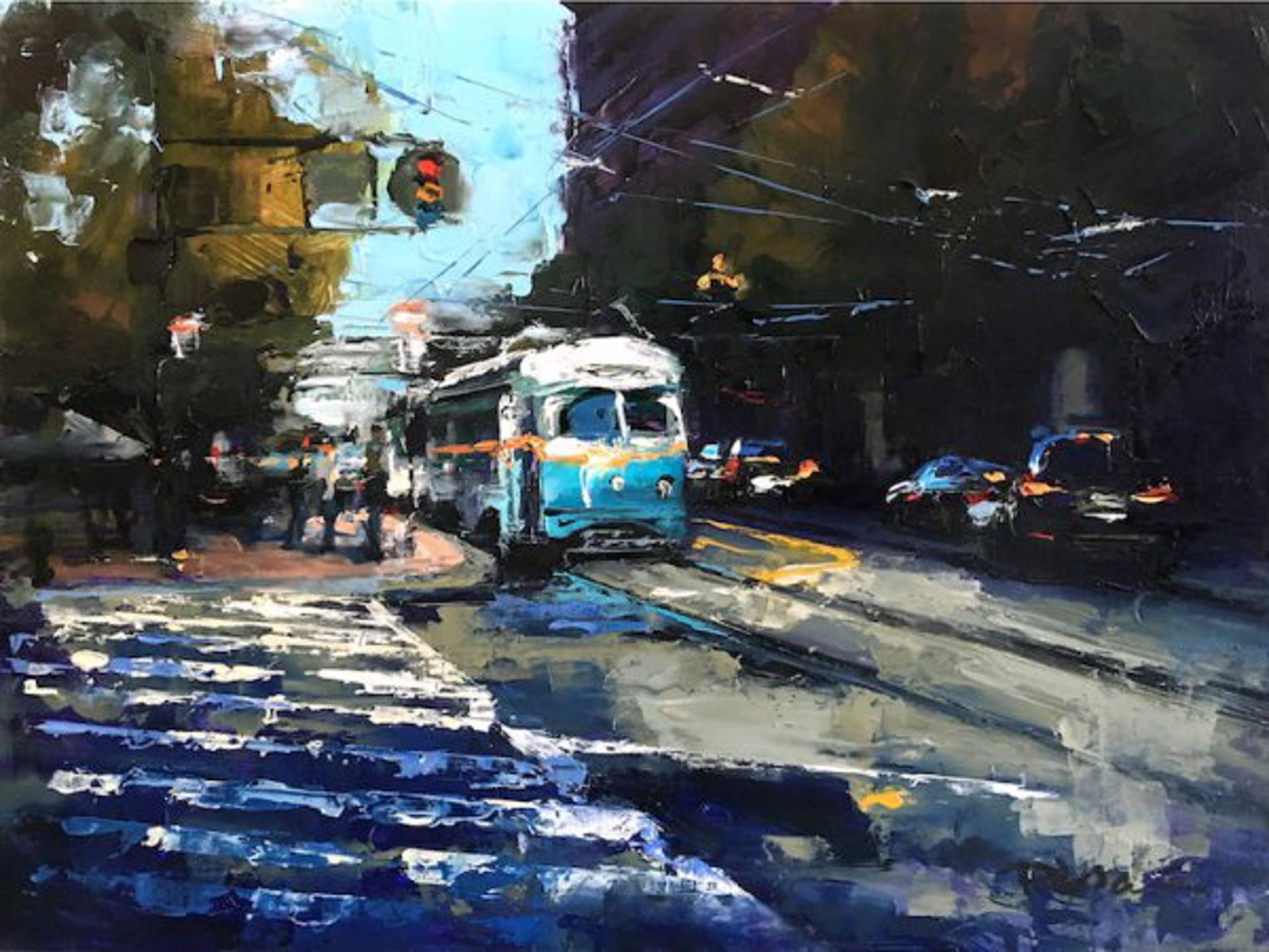 Pil Ho Lee: Market Streetcar by Pil Ho Lee
