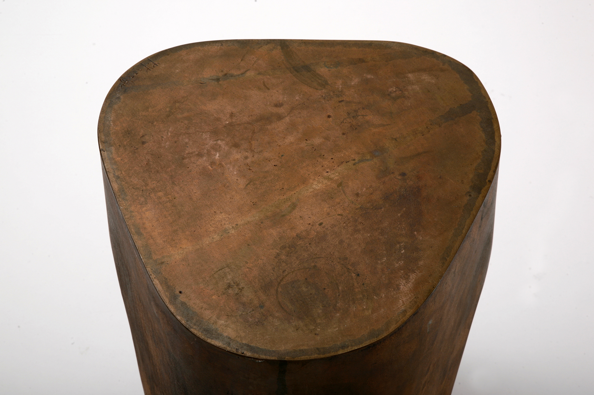 """Odalisque"" Bronze stool  by Jacques Jarrige"