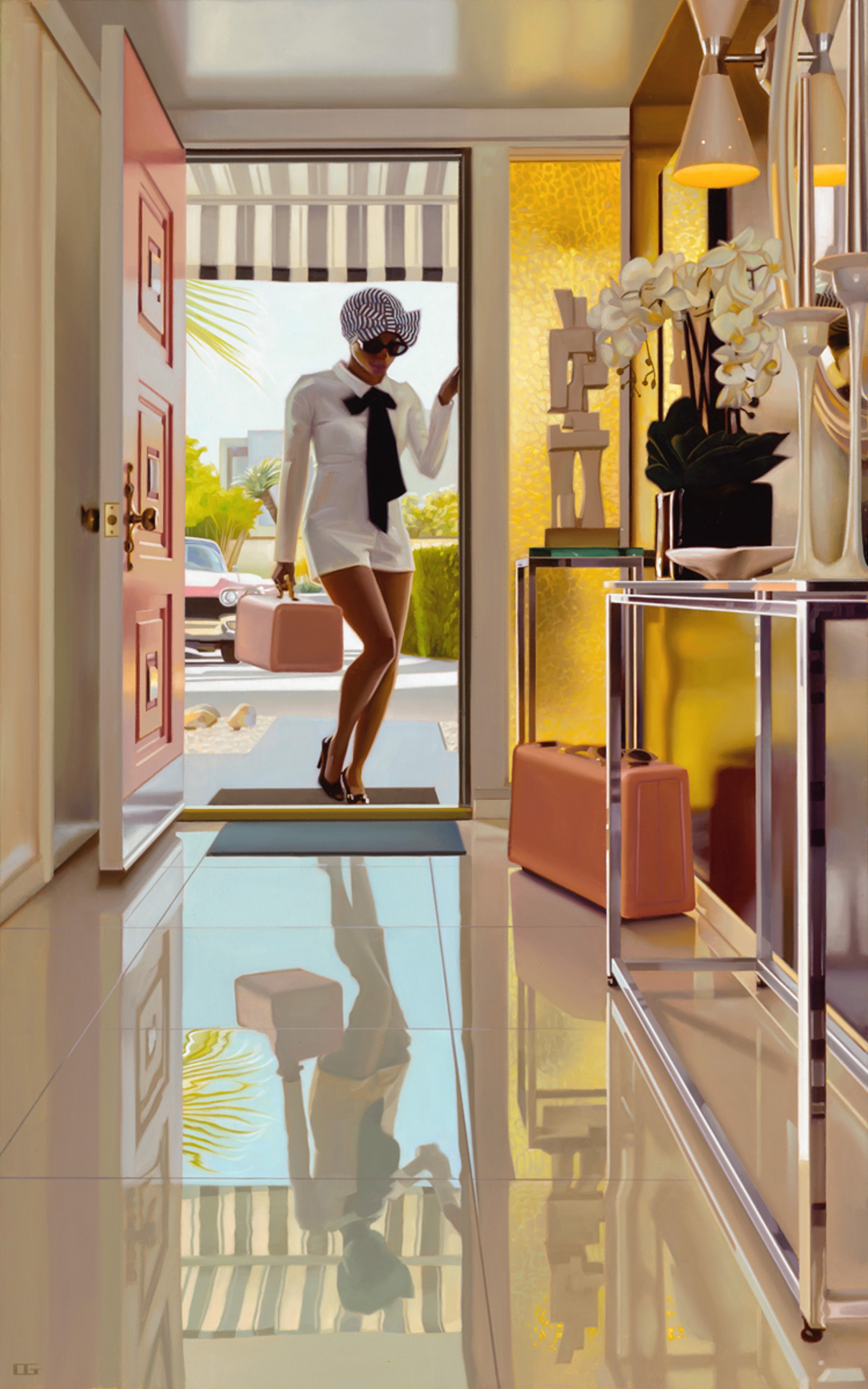 Composition In Opals by Carrie Graber