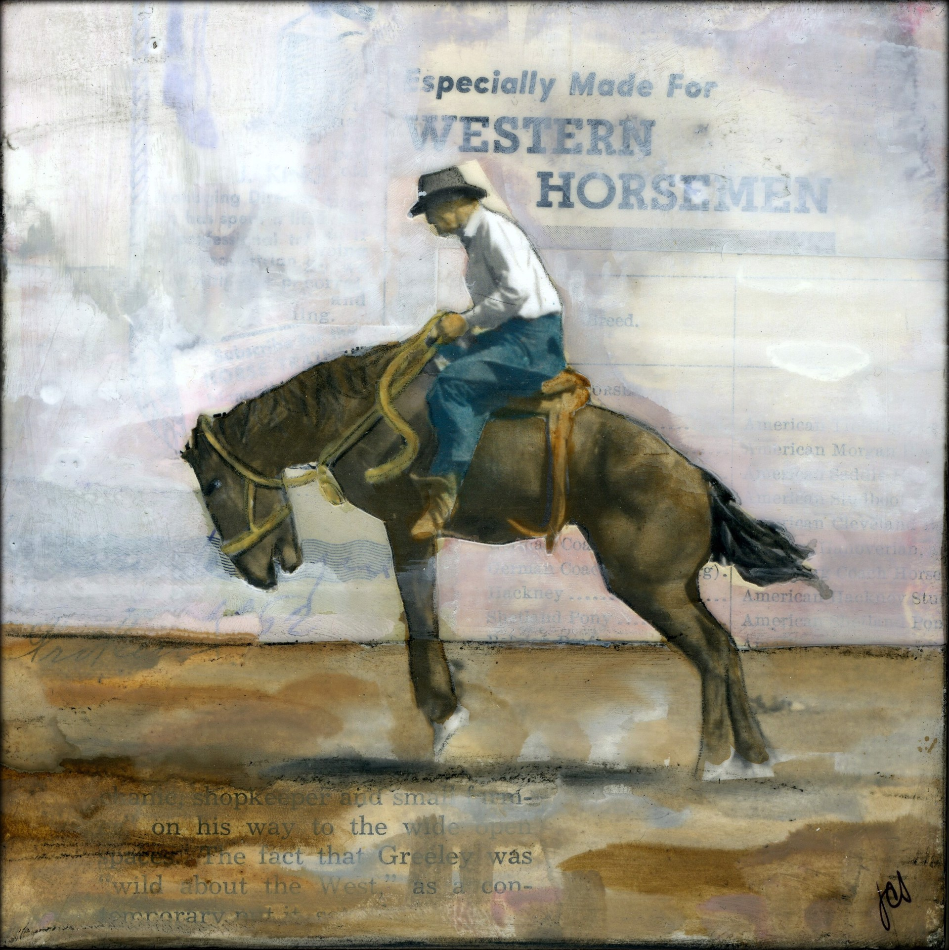 Buckin' Bronco IV by JC Spock