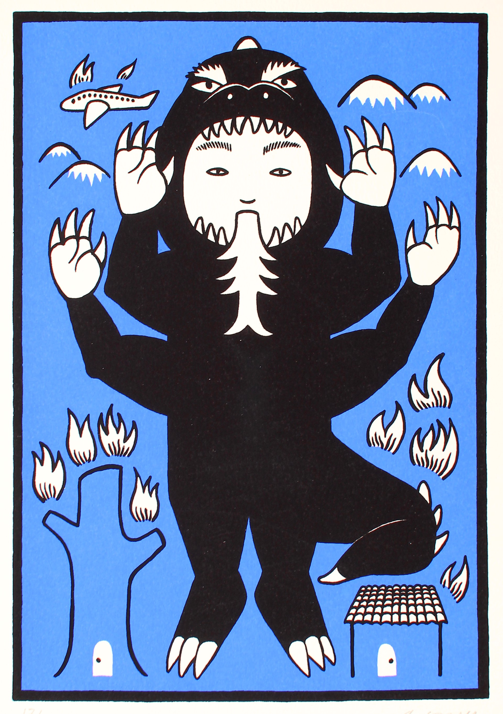Niño Azul by Alberto Cruz