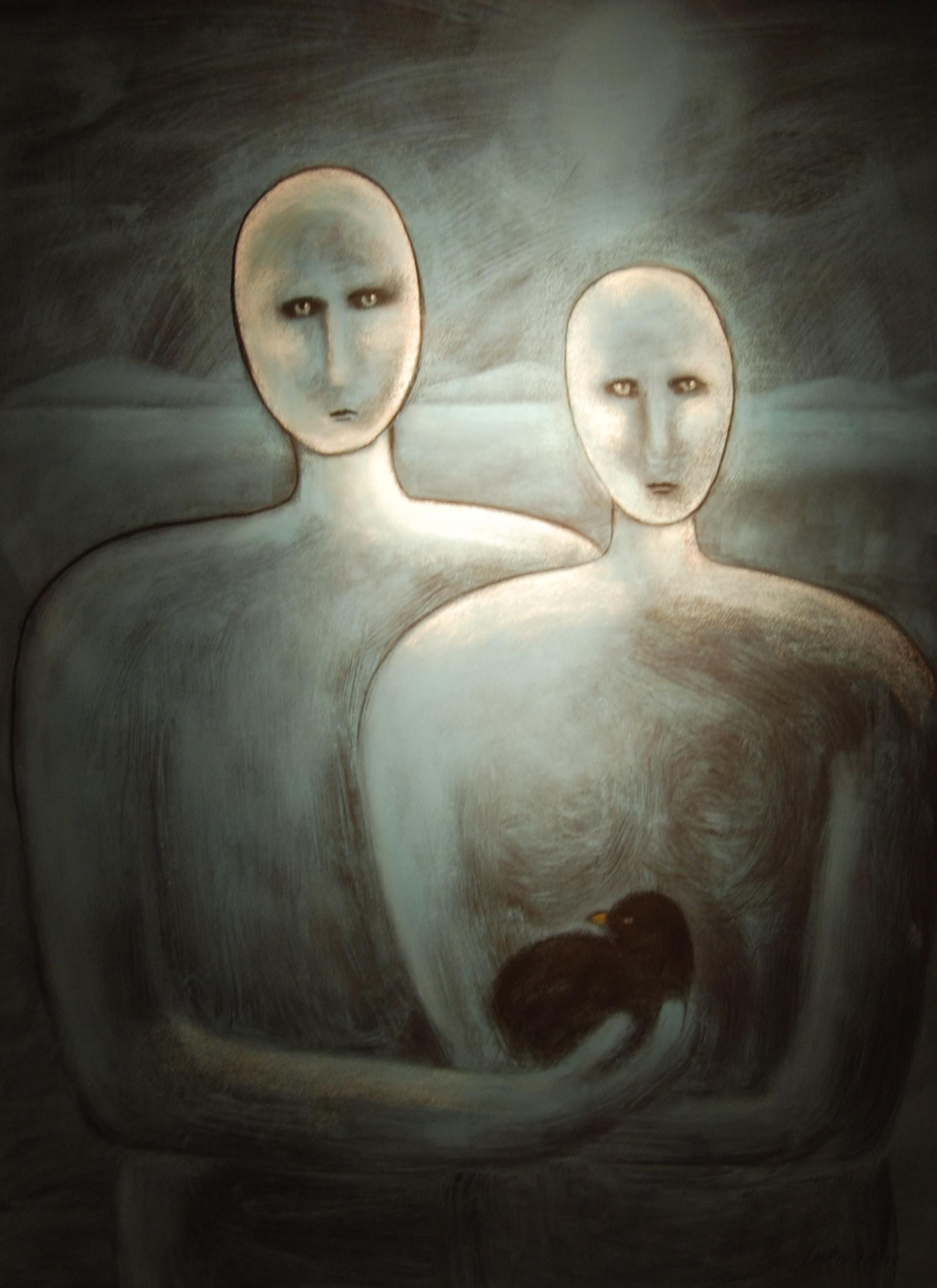 The Keepers - Unframed by Carole LaRoche