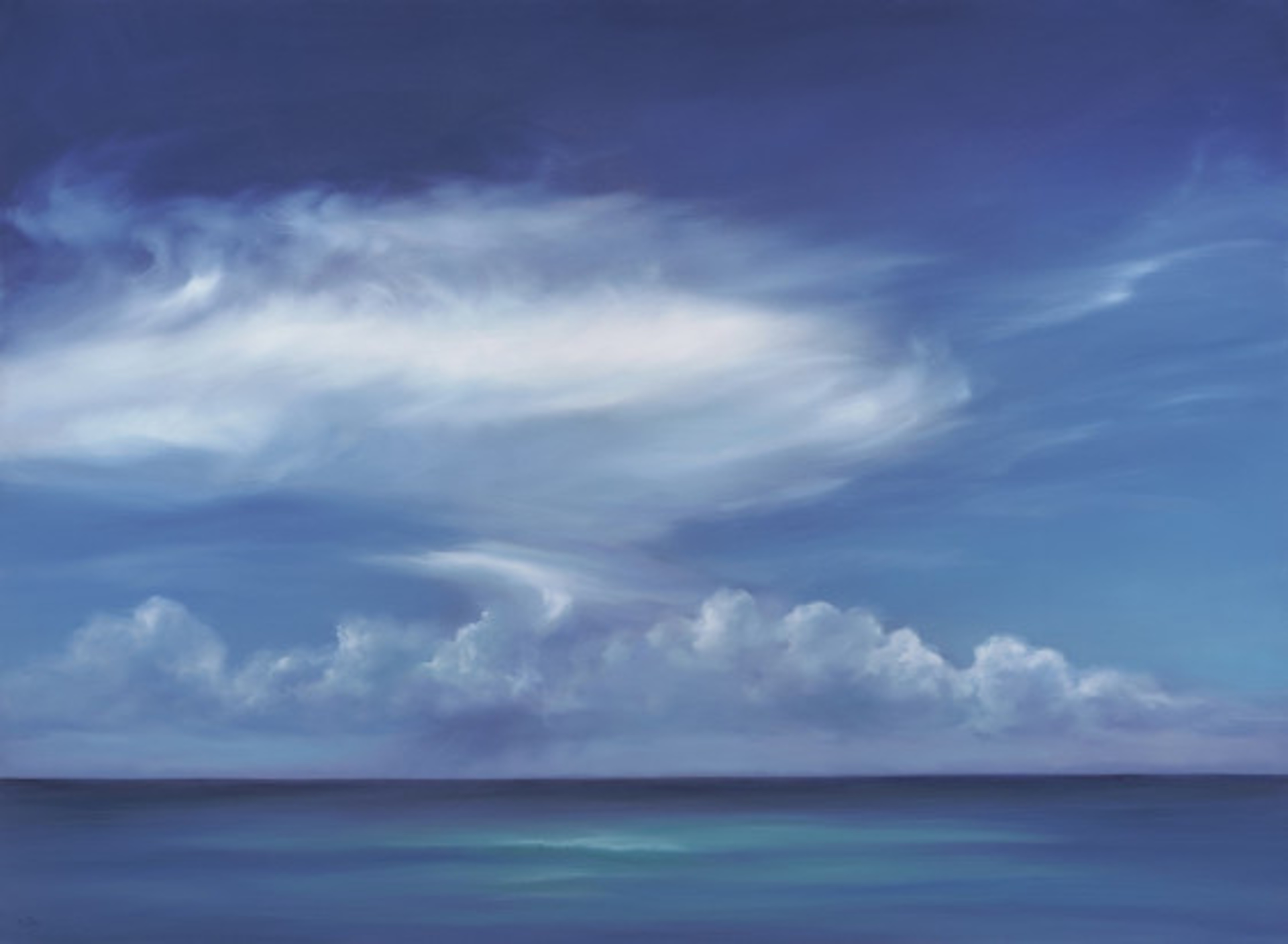 Blue Paradise #3 by Cheryl Kline