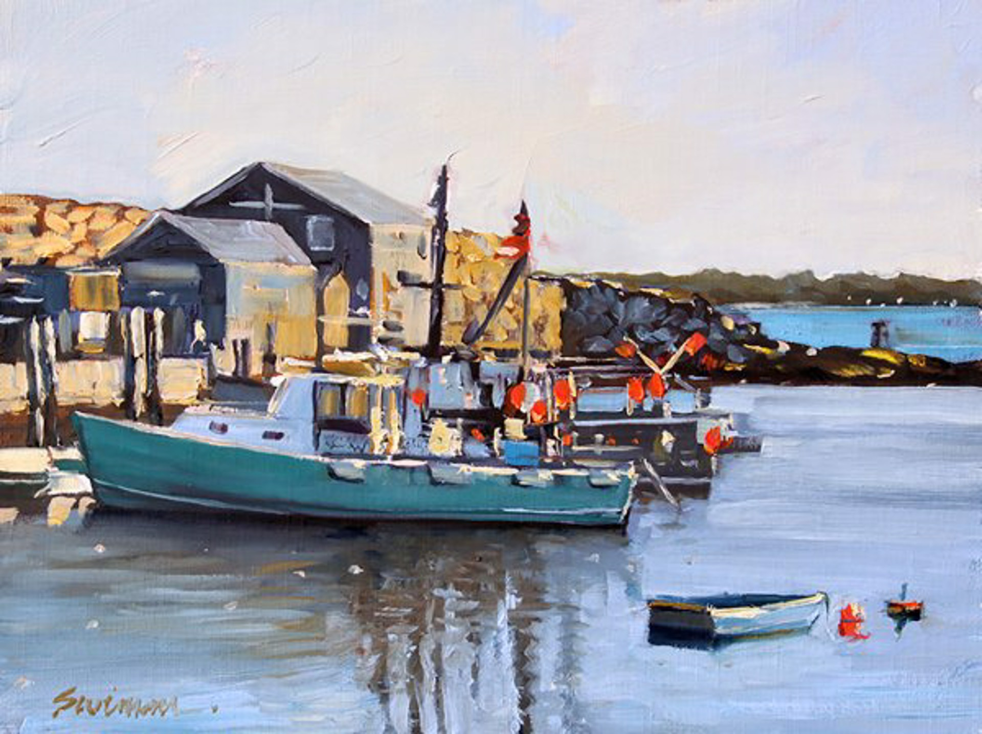 Tom Swimm: Pigeon Cove by Tom Swimm