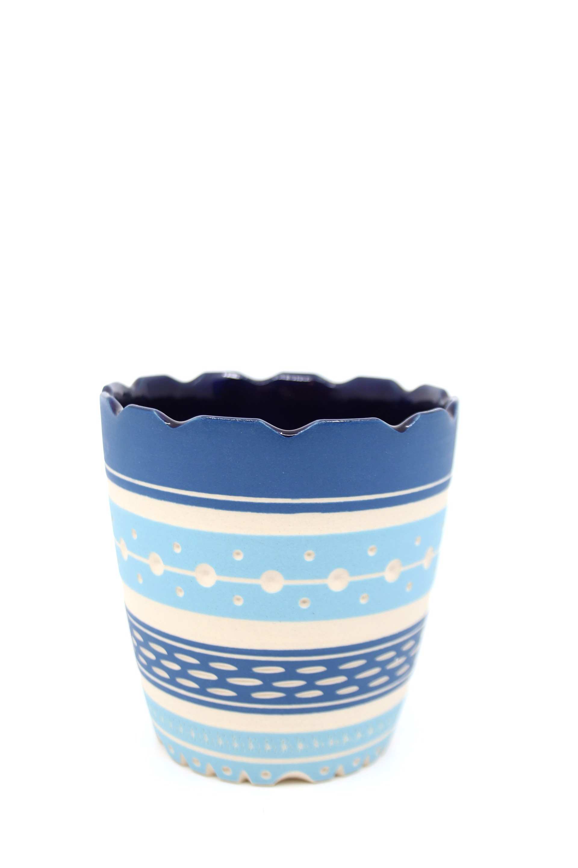 Blue/Aqua Cup by Chris Casey