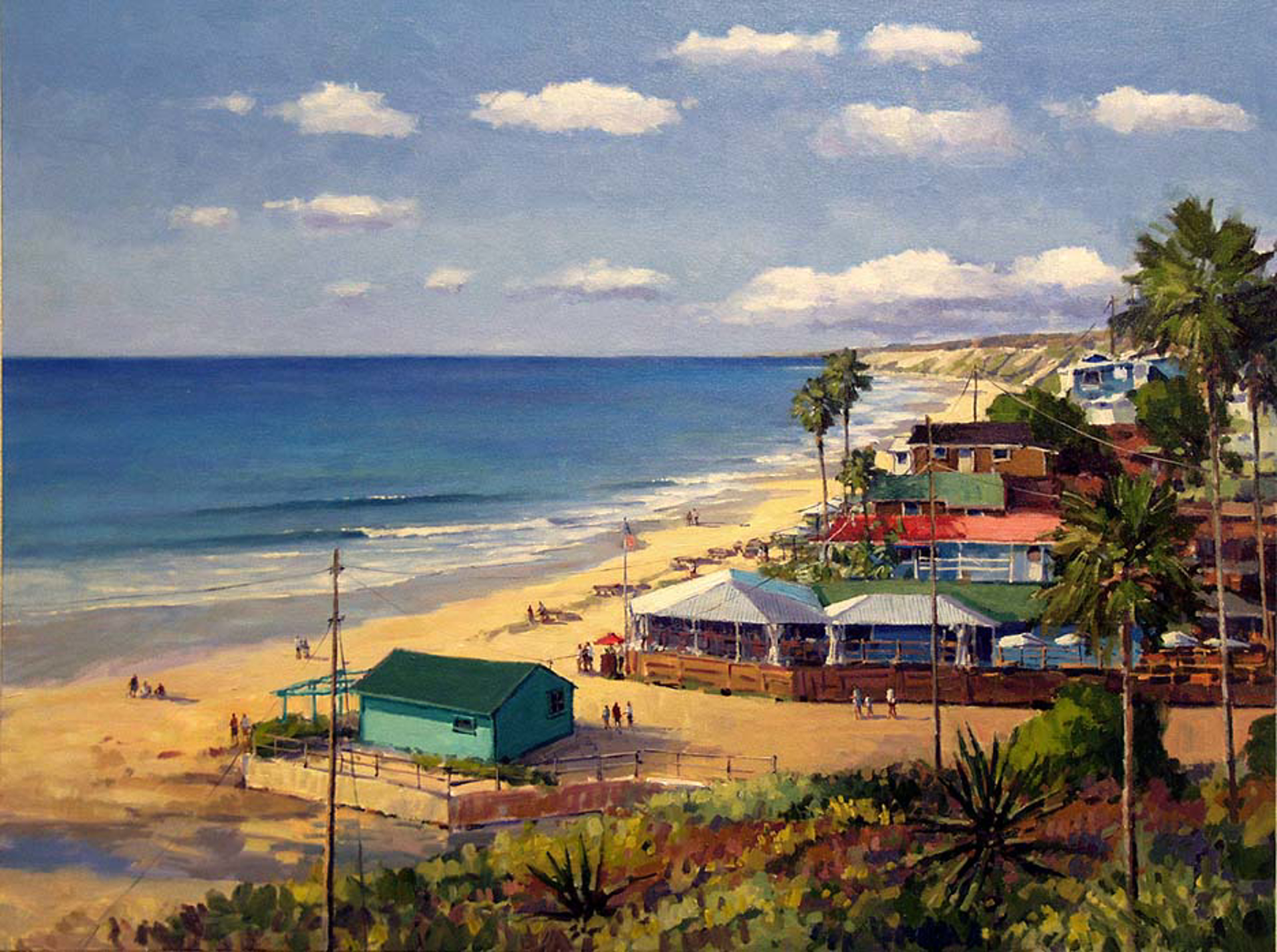 Summer Days - Crystal Cove by Ronaldo Macedo