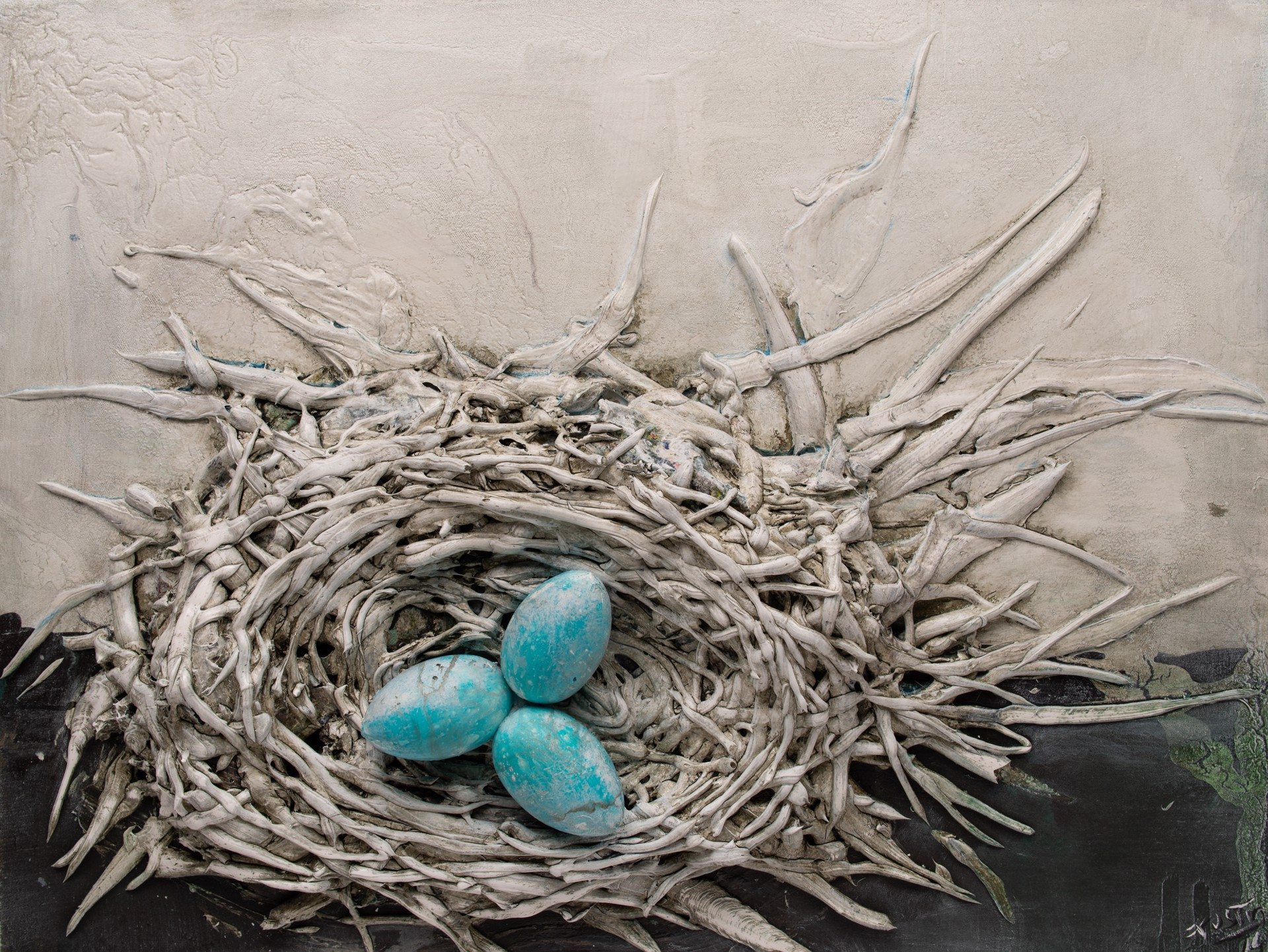 NEST NS-38x29-2019-271 by JUSTIN GAFFREY