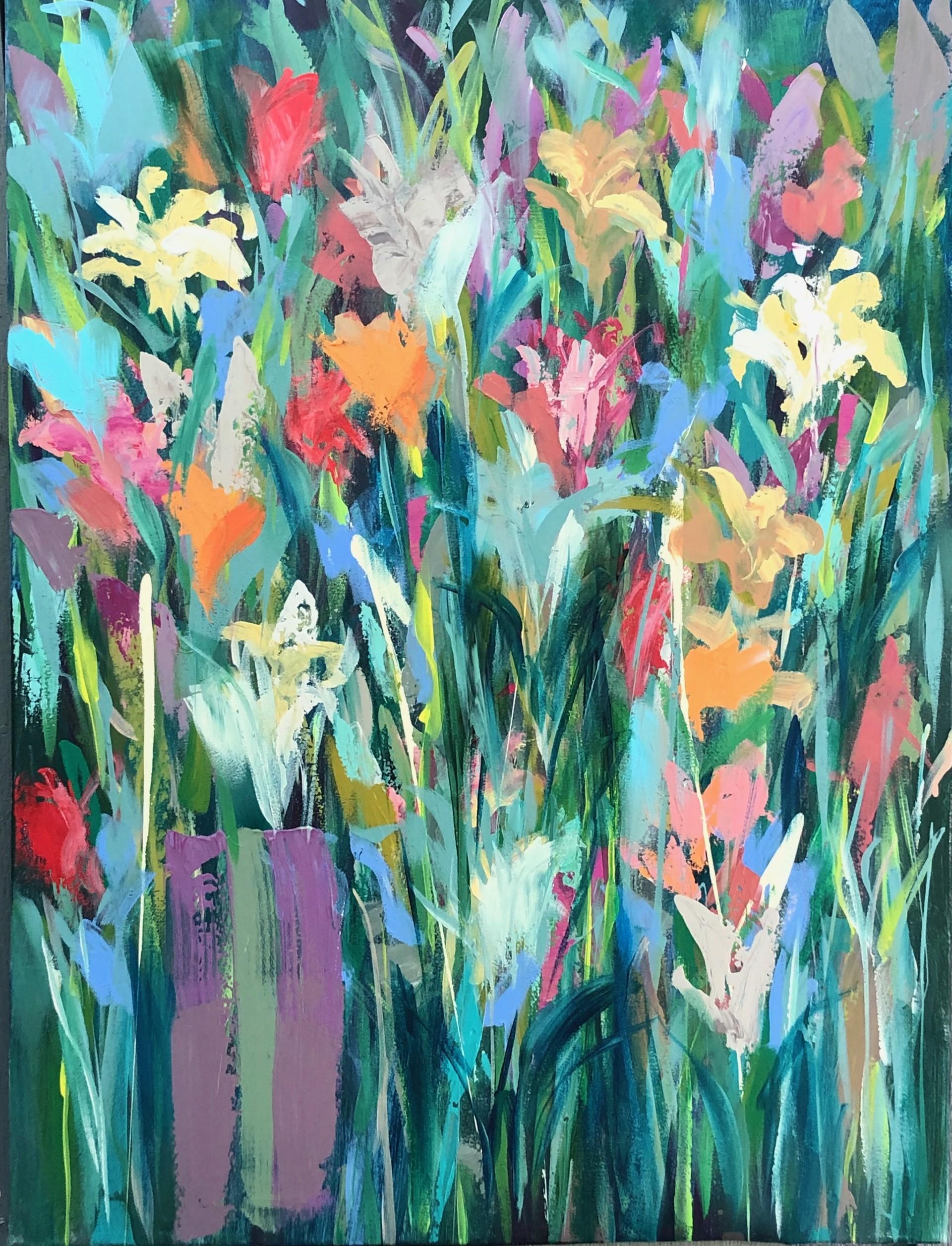 Fleur De Lis, June by Amy Dixon