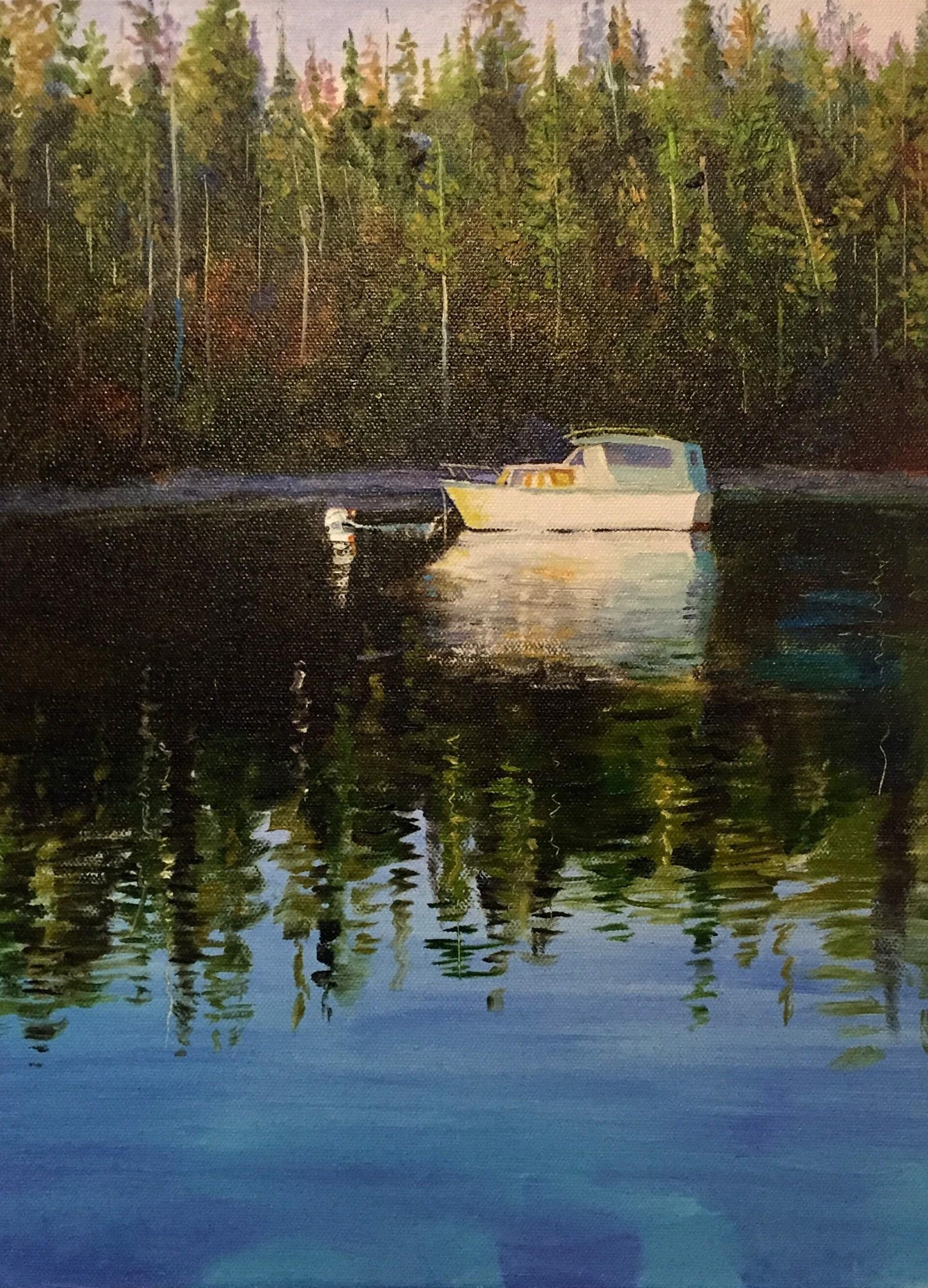 Waking on the Water by Dan Knepper