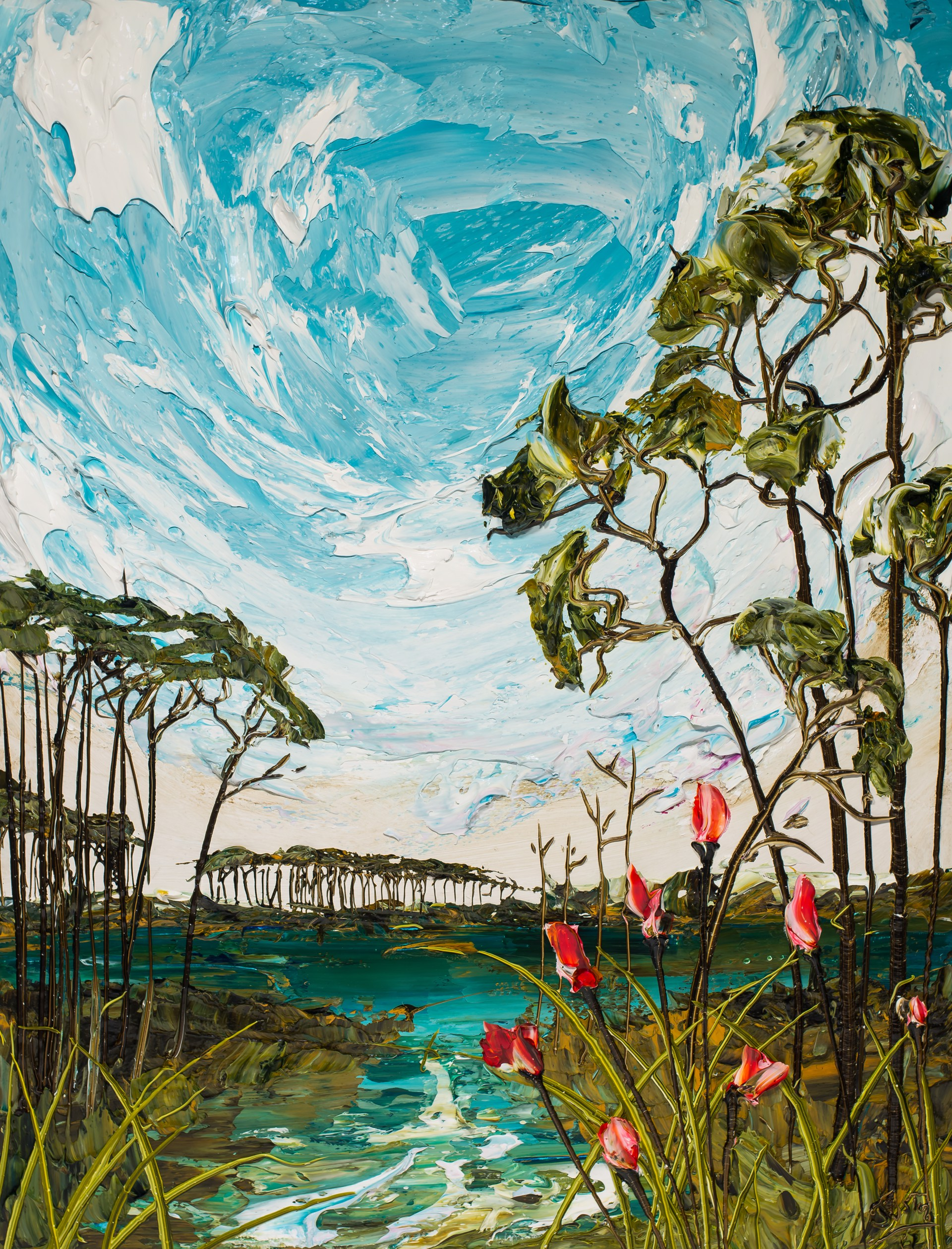 LAKESCAPE LS30X40-2019-078 by Justin Gaffrey