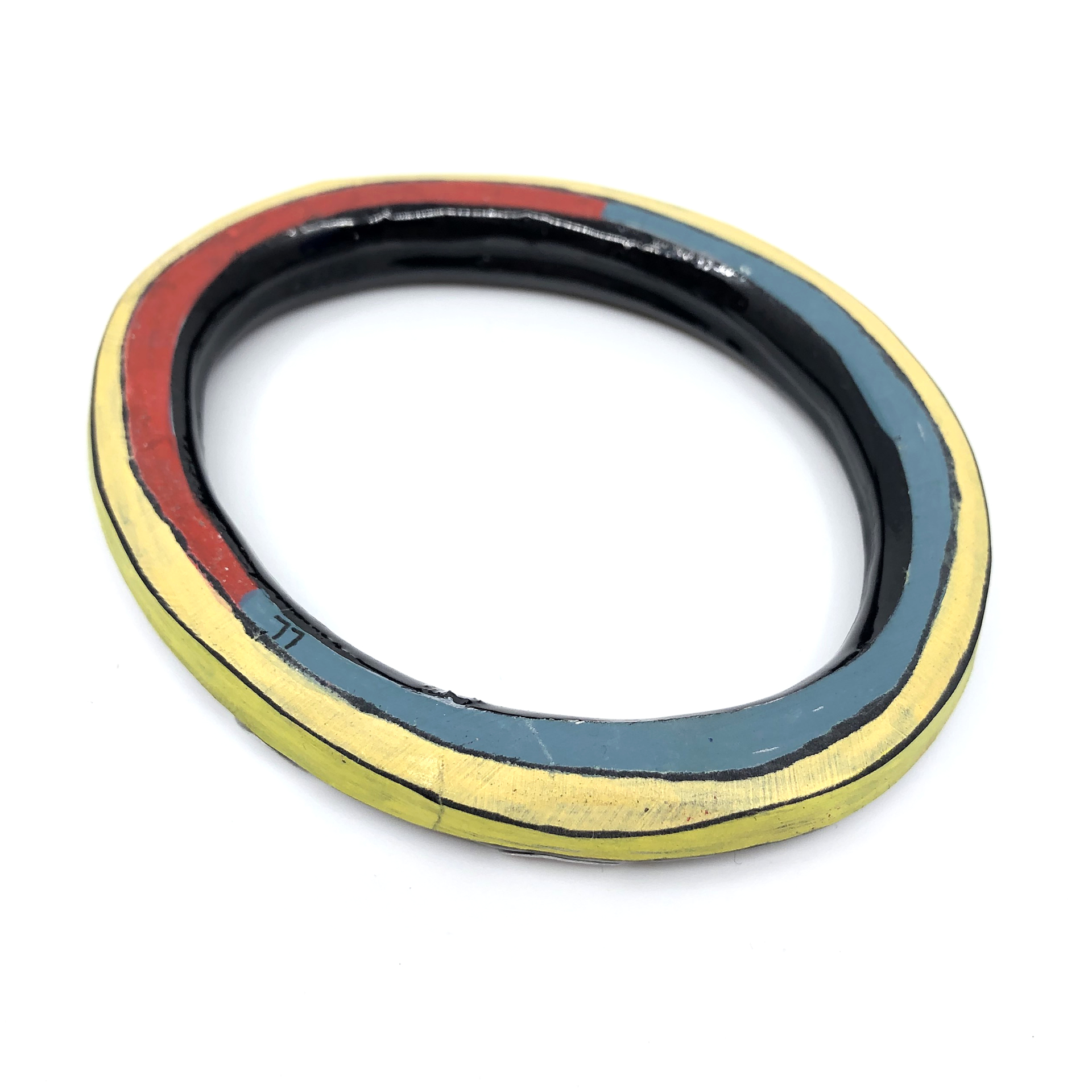 Bangle (red/yellow/blue) by Lindsay Locatelli