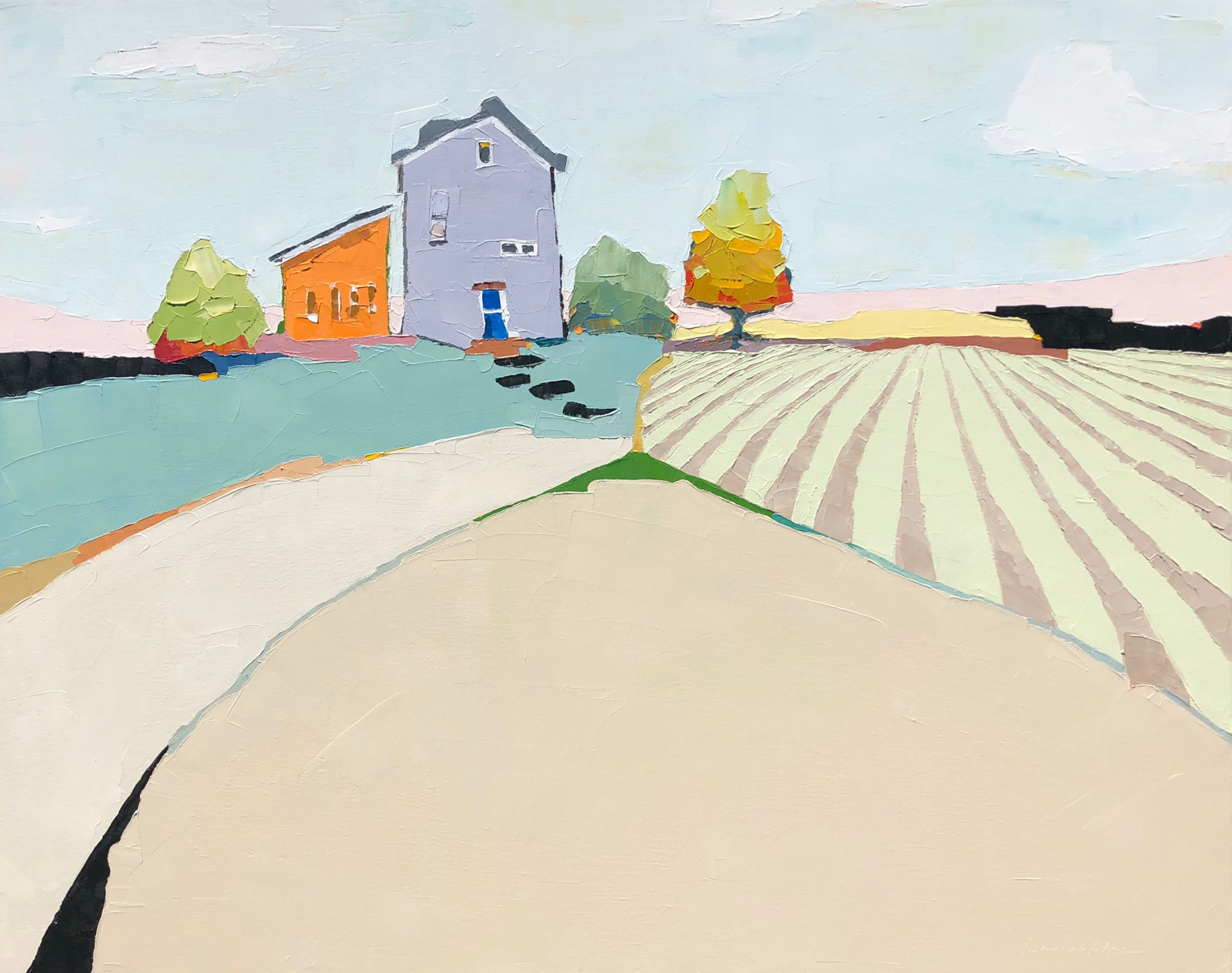 Lavender House by Donna Walker