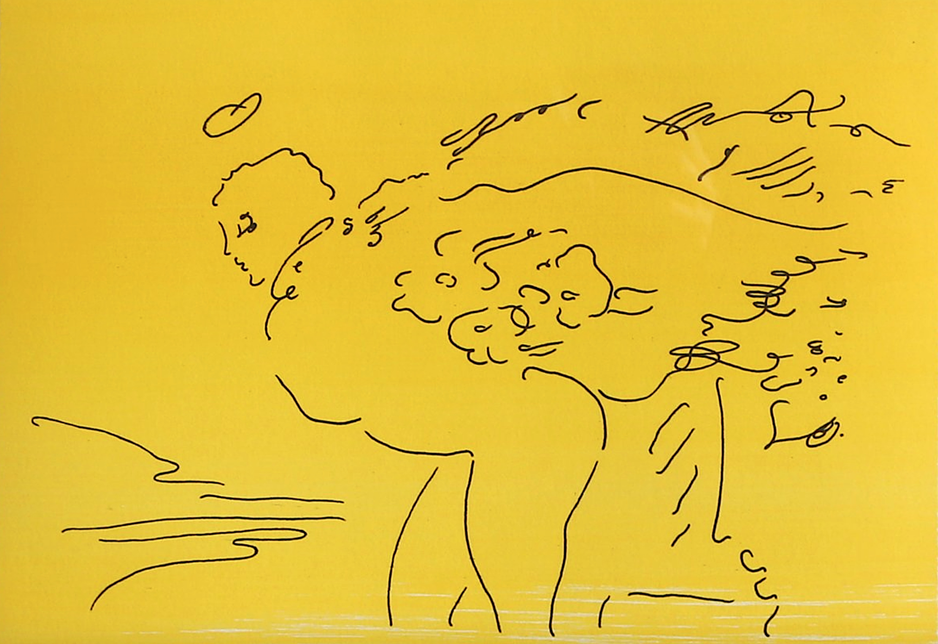 Angels 5 from the complete suite of six by Peter Max