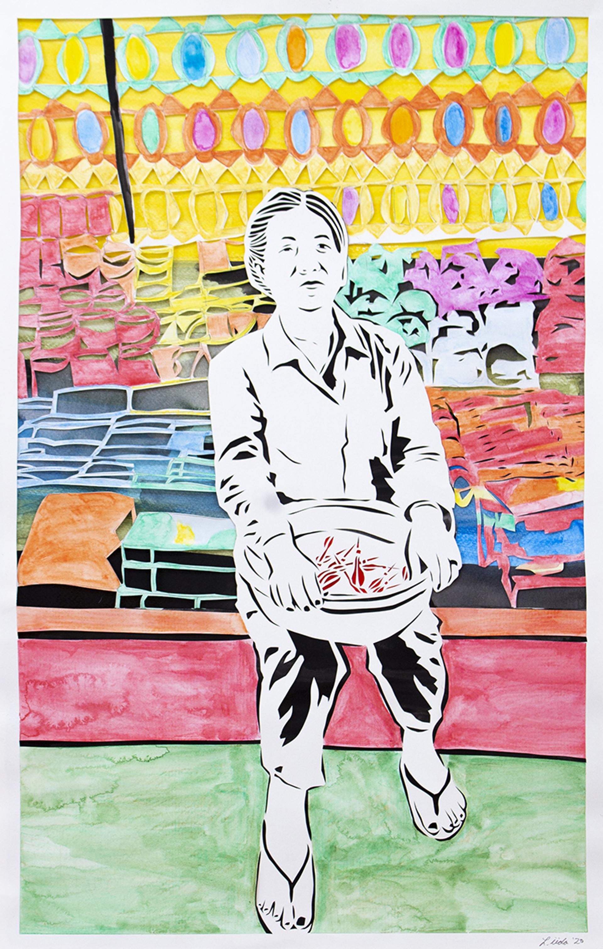 25. Observant: The Appearance of a Night Market Balloon Dart Vendor by Lauren Iida