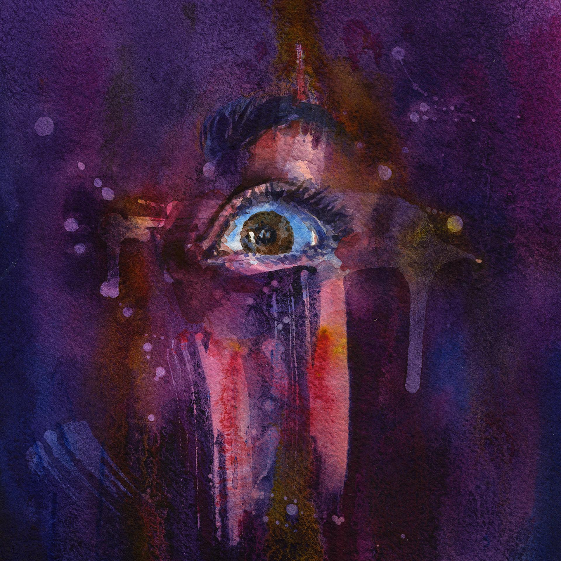 Piercing the Veil - Purple by Joanna Barnum
