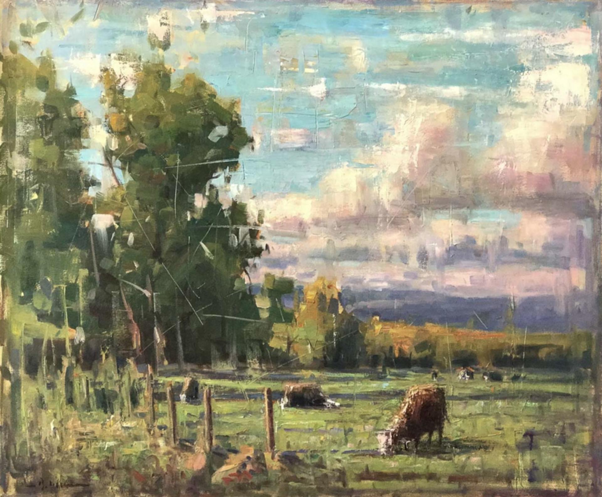 Through Pastures Green by Brett Weaver